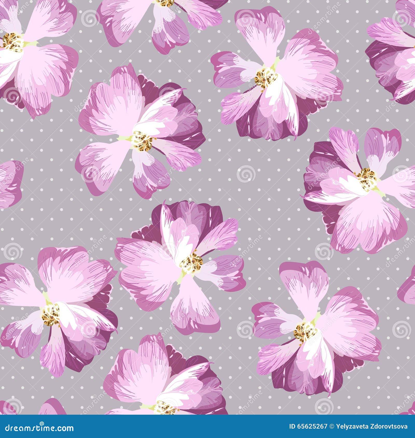 Modèle sans couture avec des roses de rose en pastel