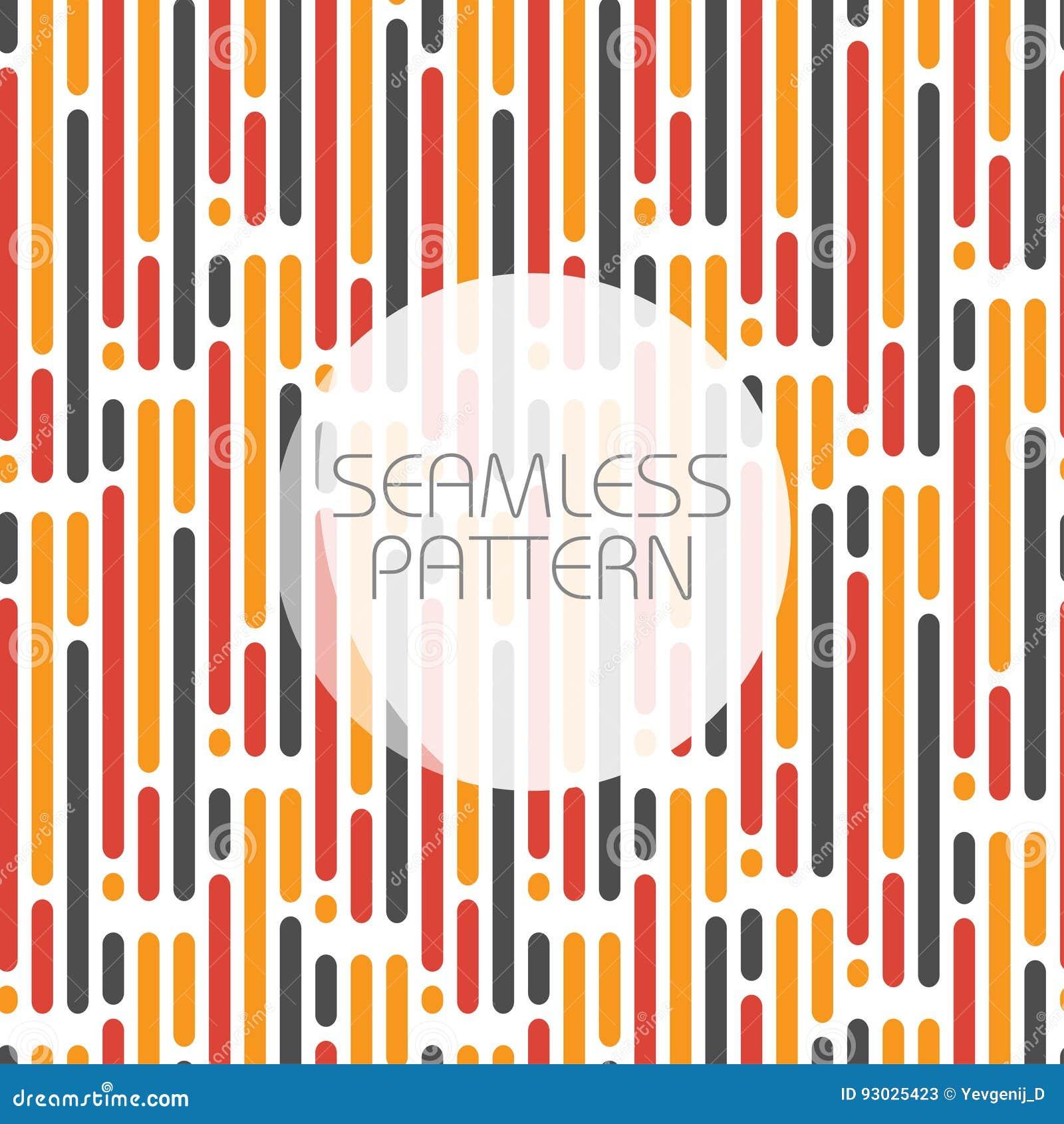 Modèle sans couture avec les lignes parallèles dans trois couleurs