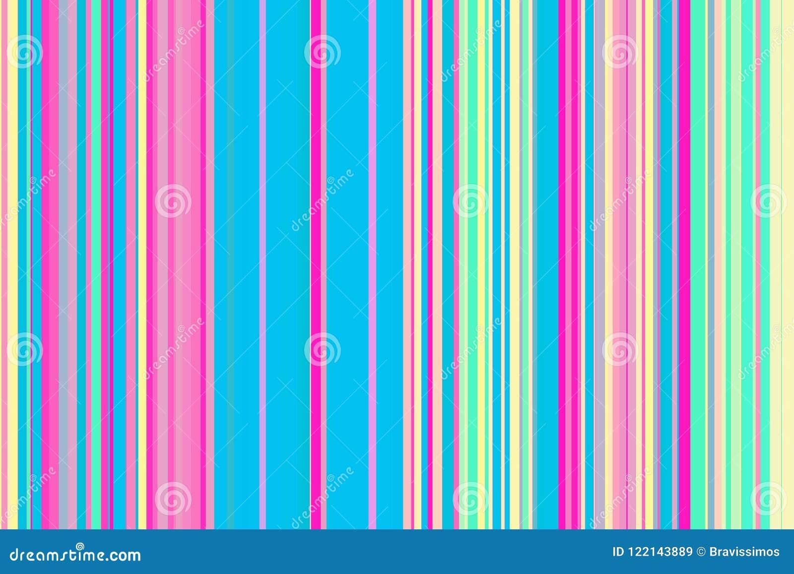 Modèle sans couture coloré de rayures Fond abstrait d illustration d arc-en-ciel Couleurs modernes élégantes de tendance