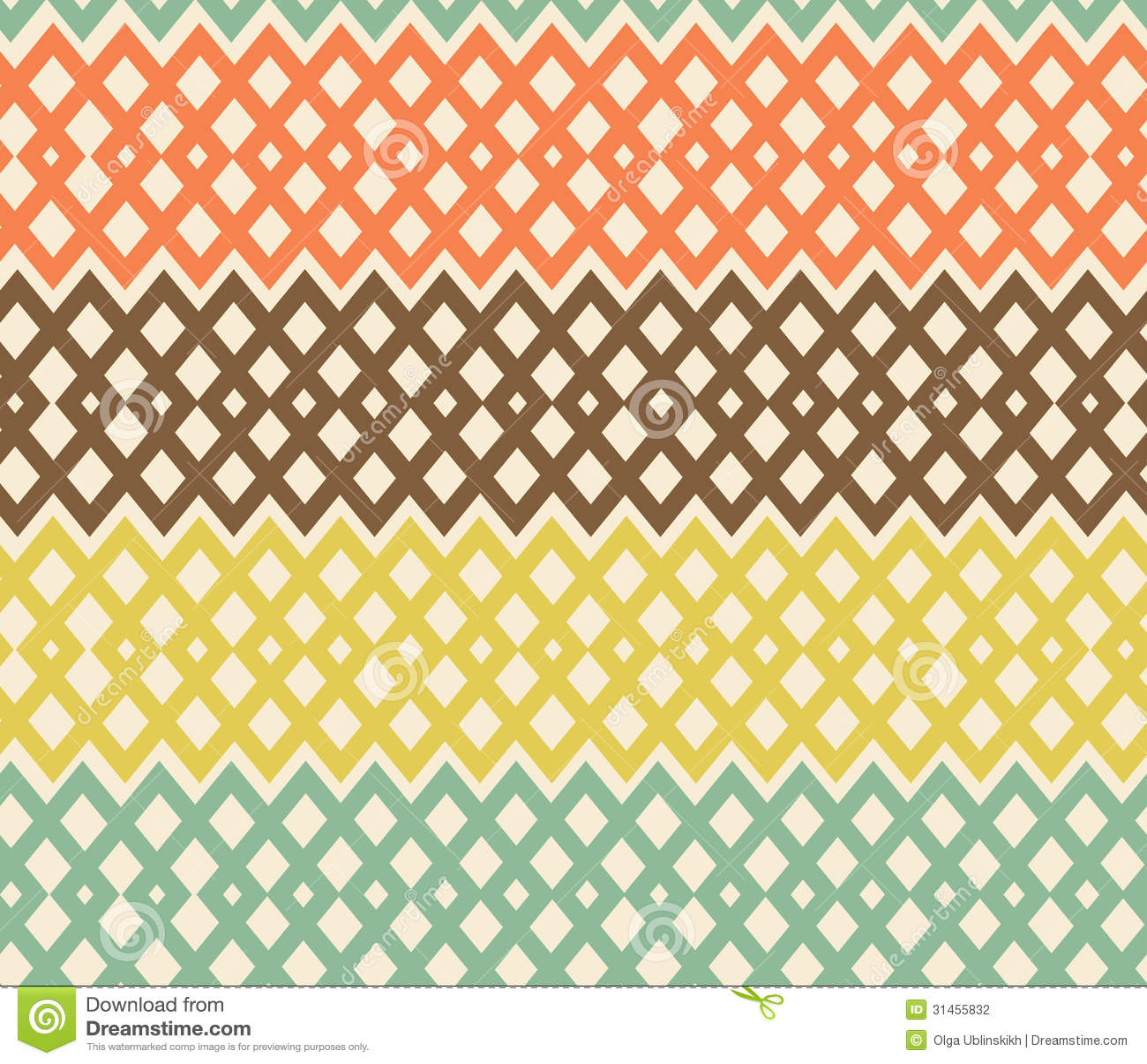 Modèle sans couture coloré géométrique. Struc de fabrication