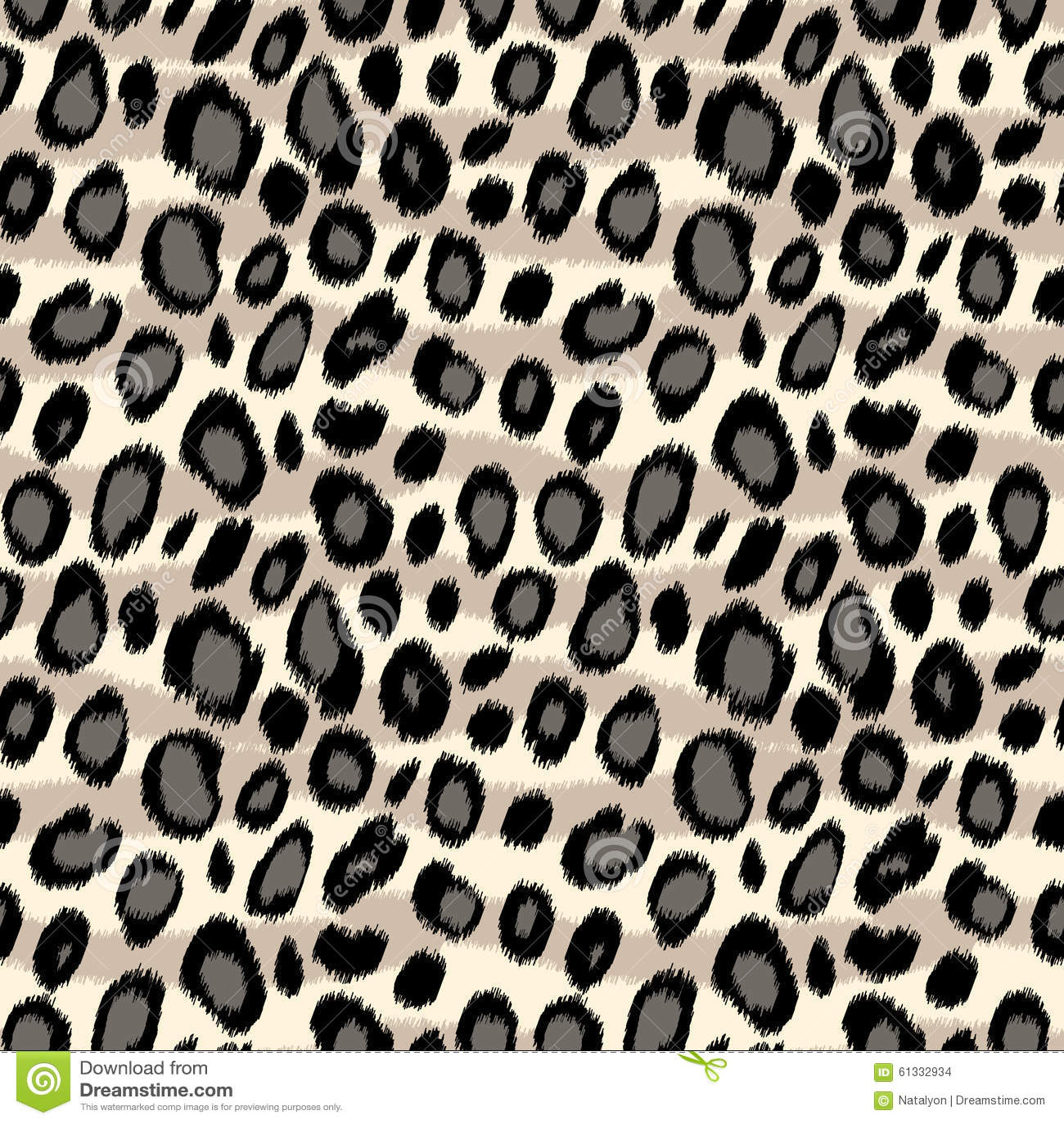 mod le sans couture d 39 impression animal de peau de l opard en noir et blanc vecteur. Black Bedroom Furniture Sets. Home Design Ideas
