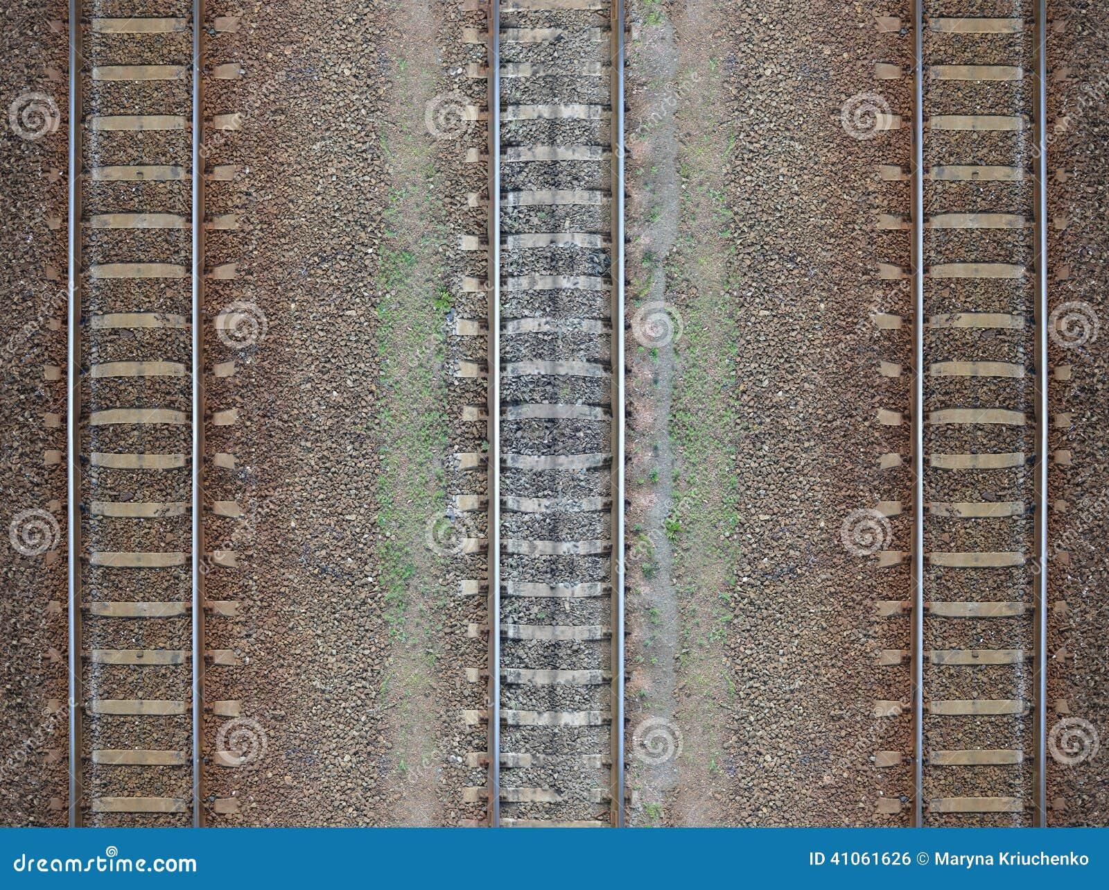 Modèle sans couture de chemin de fer, contexte