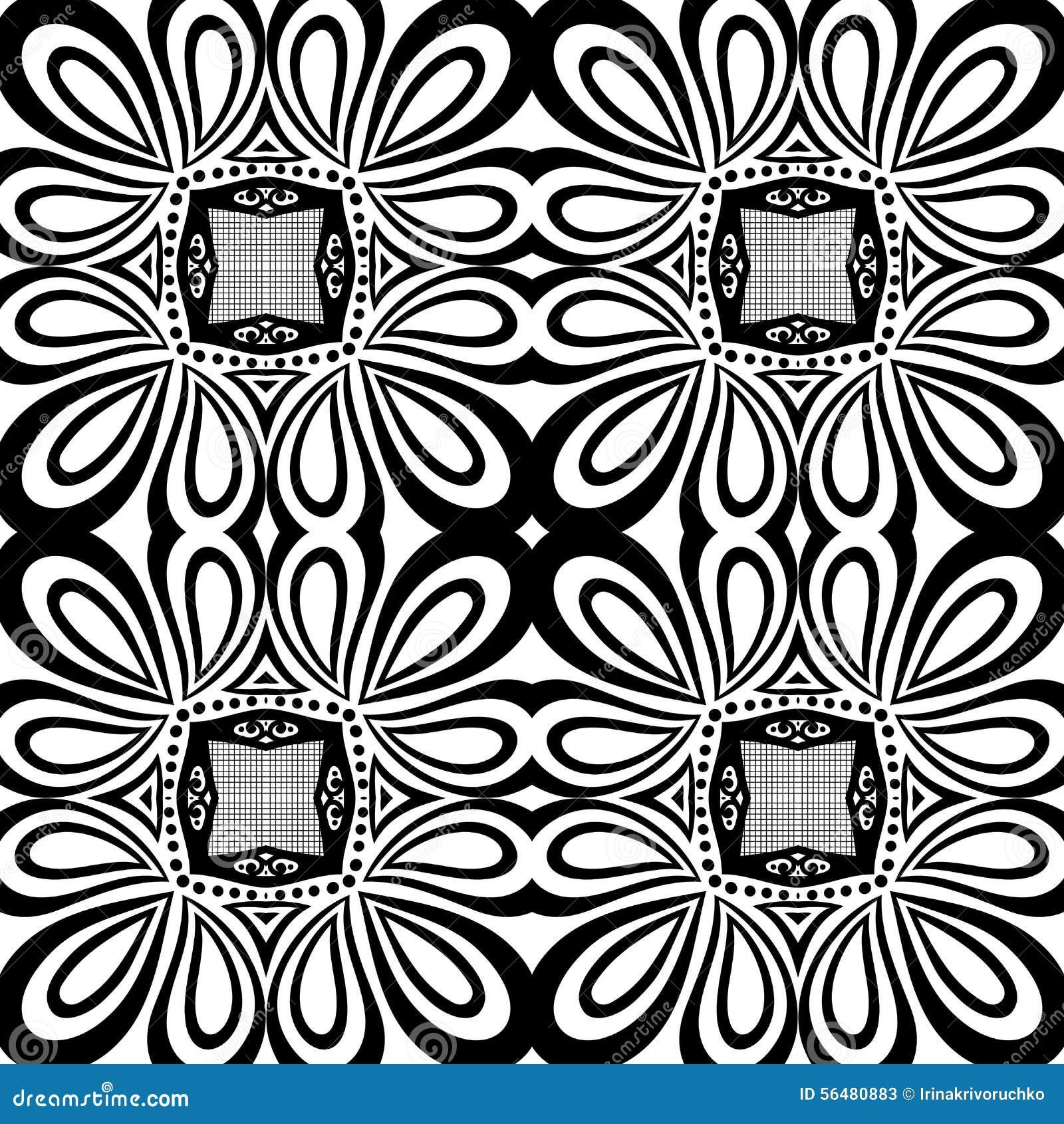 Modèle sans couture de dentelle de vintage (vecteur)