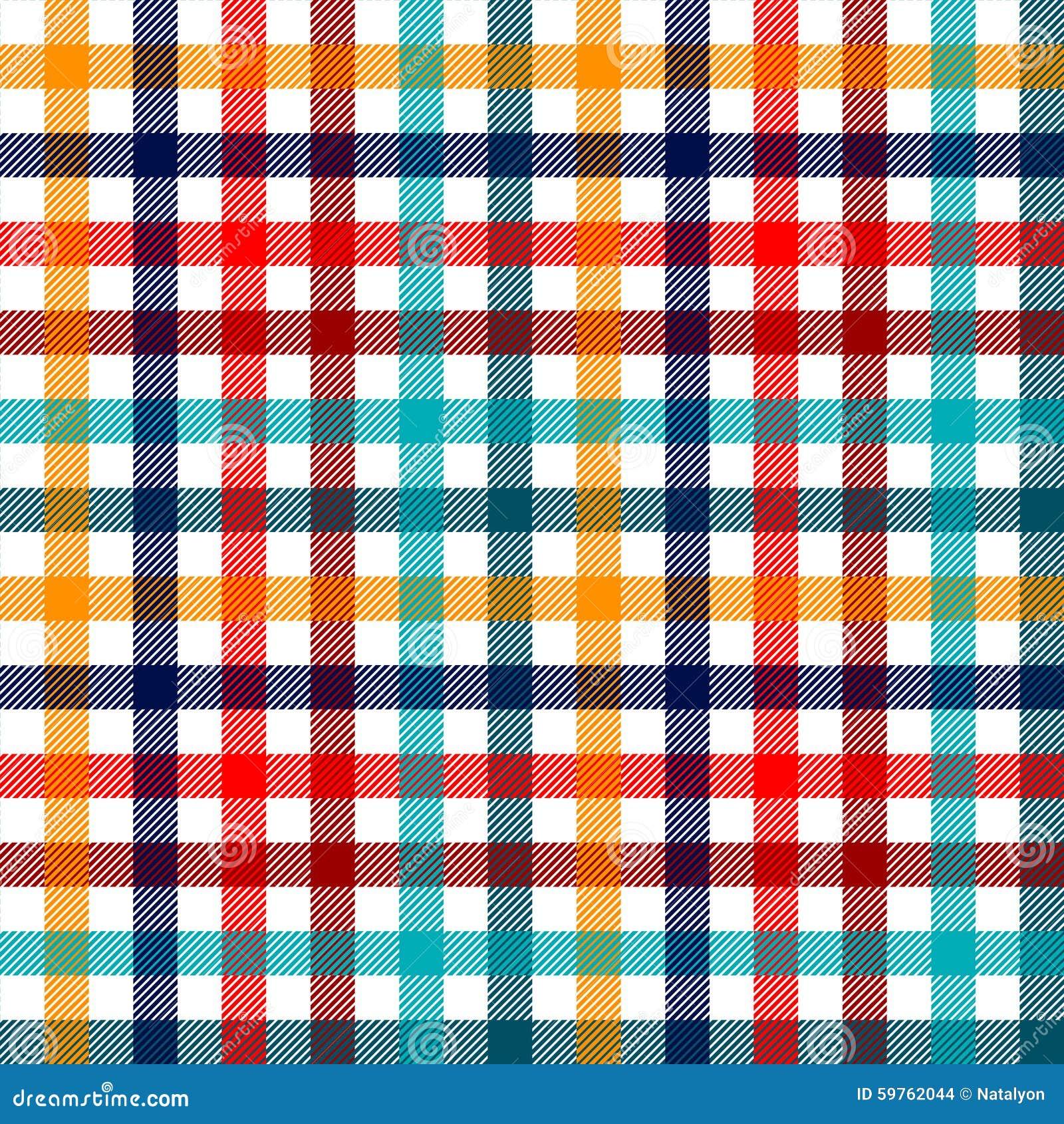 mod le sans couture de guingan de tissu carreaux color de plaid en rouge blanc et jaune bleus. Black Bedroom Furniture Sets. Home Design Ideas