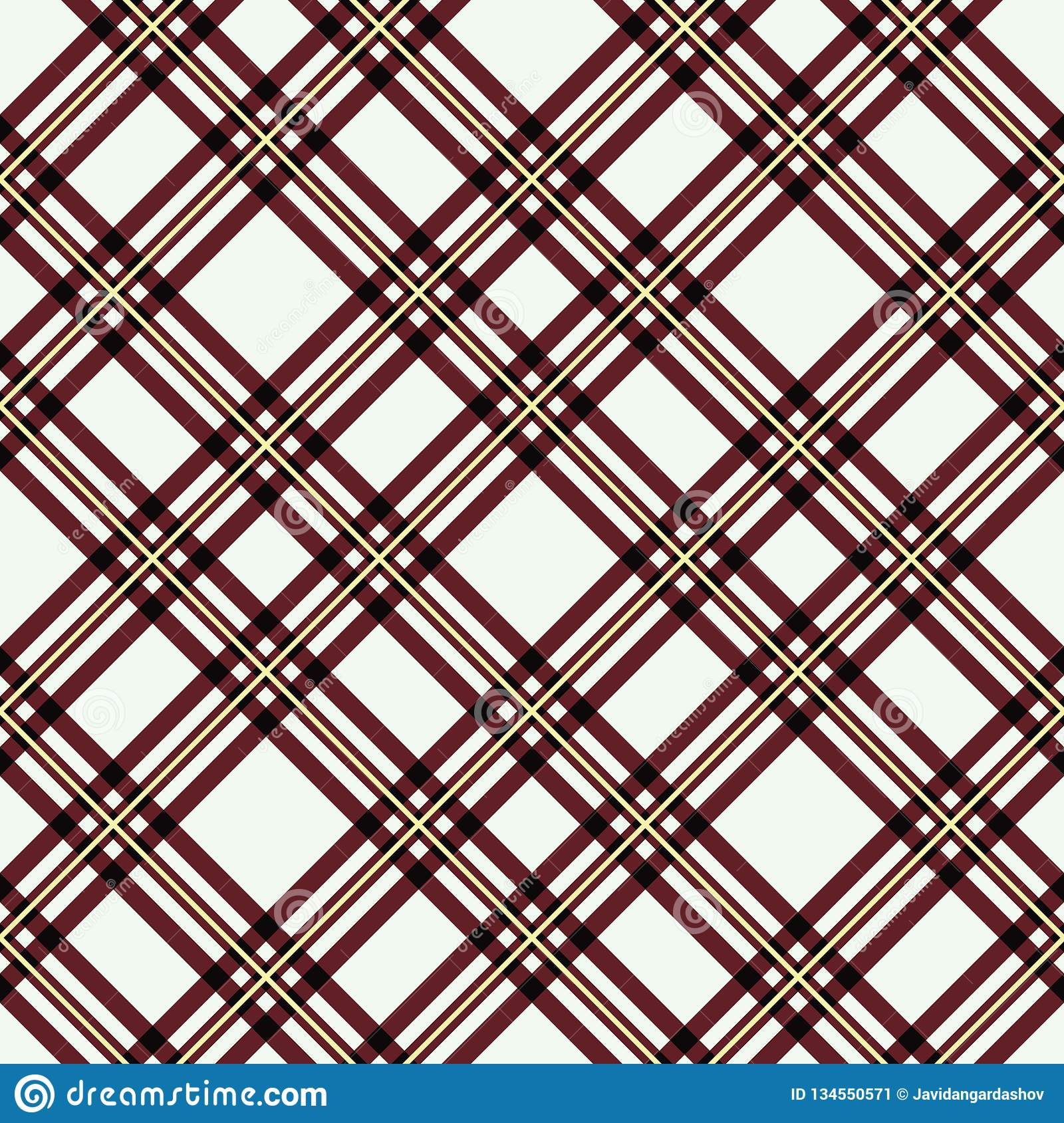 Modèle sans couture de plaid de tartan Copie à carreaux de texture de tissu dans le gris, taupe, beige et blanc