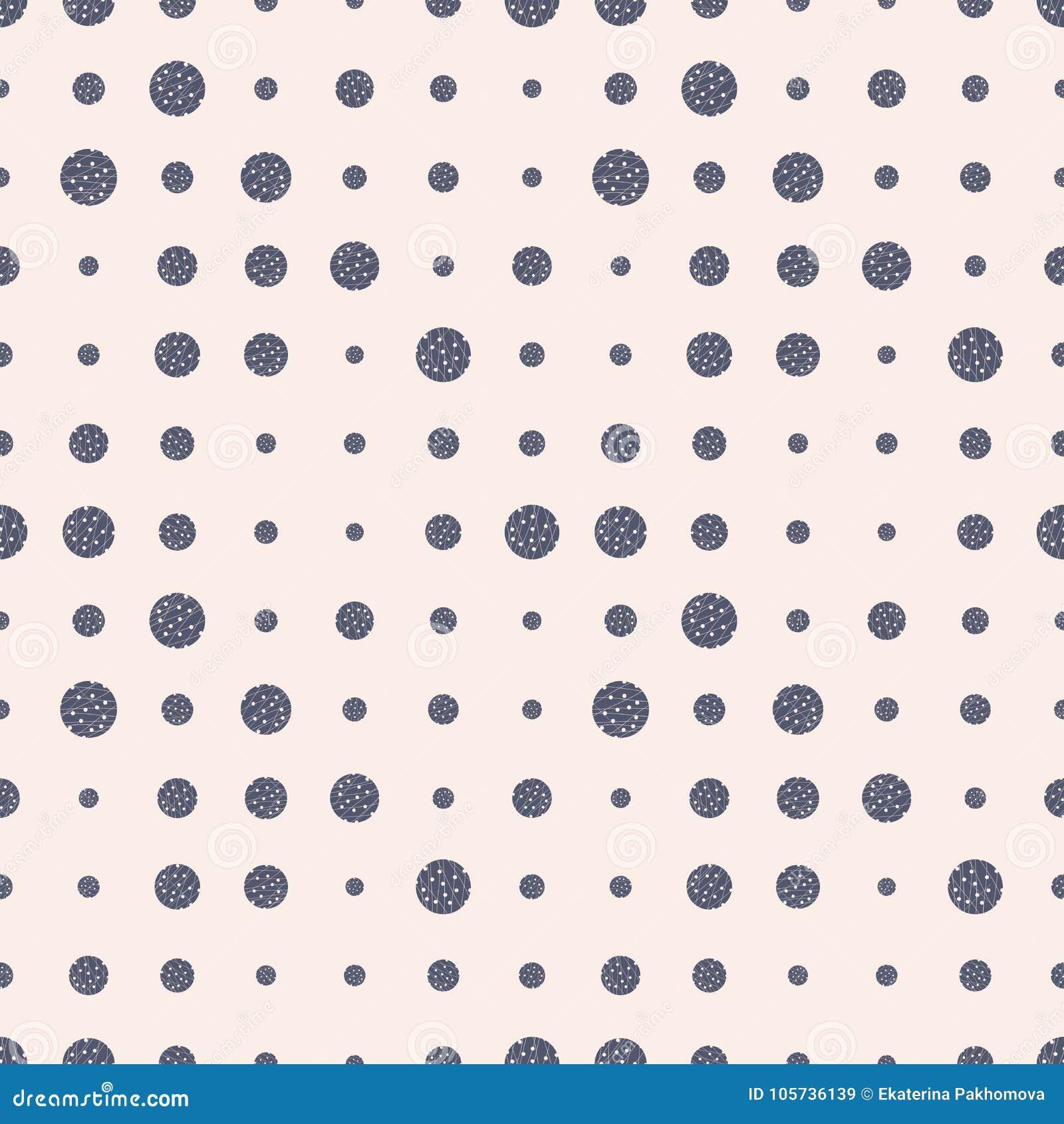 Modèle sans couture de point tramé grunge coloré Fond pointillé