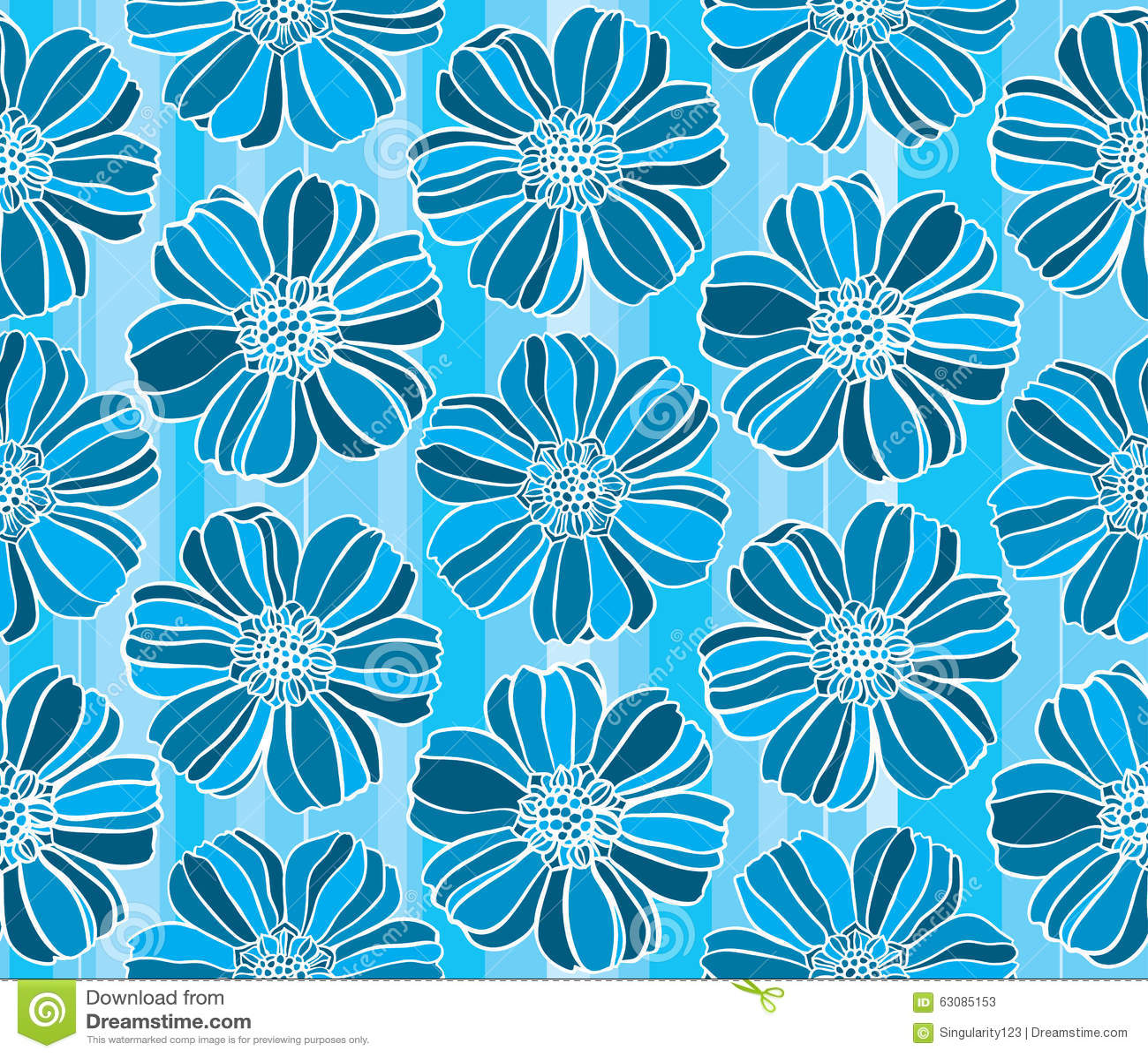Download Modèle Sans Couture De Vecteur De Marguerite Illustration de Vecteur - Illustration du forme, configuration: 63085153
