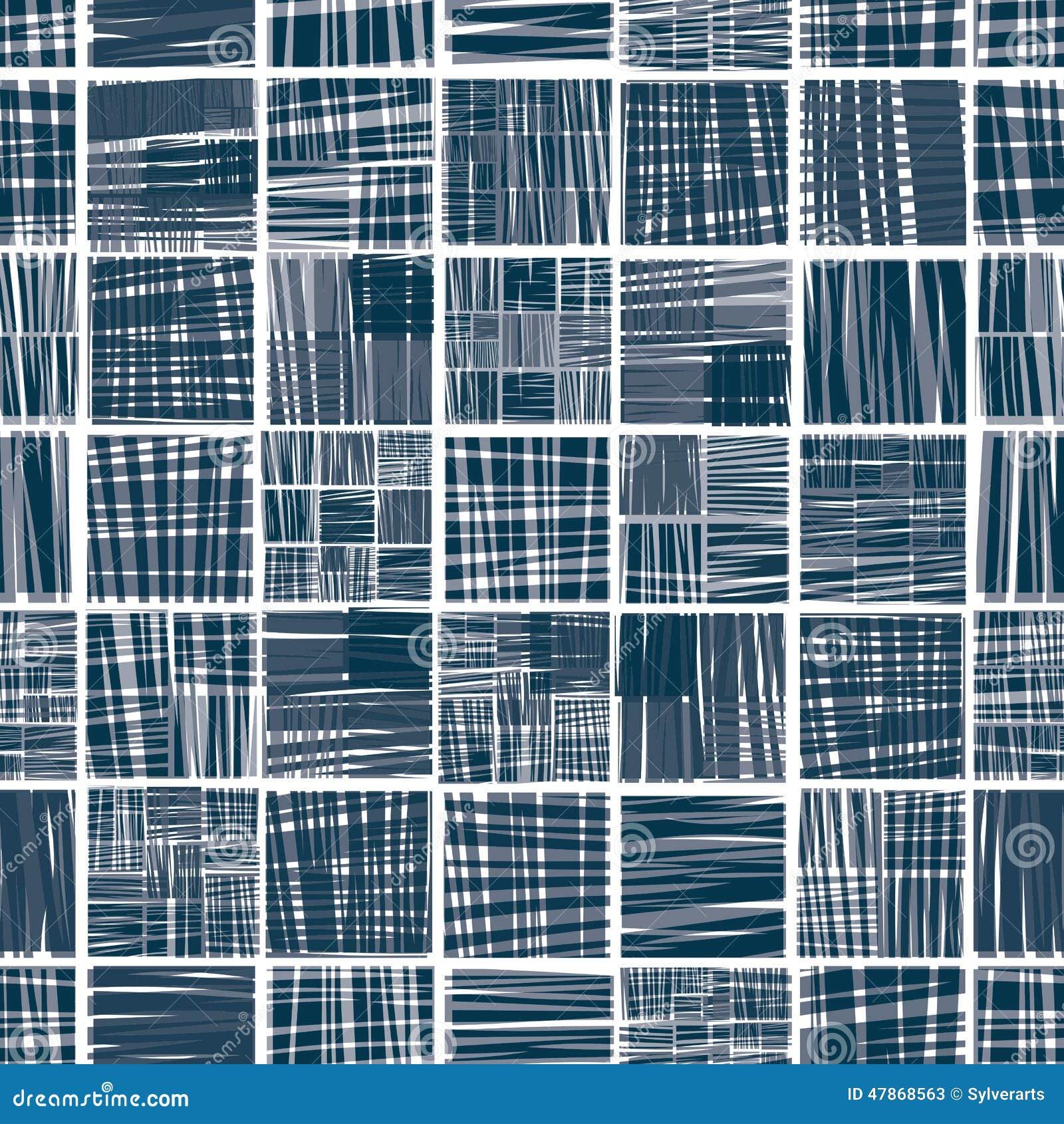 Modèle sans couture rayé de textile
