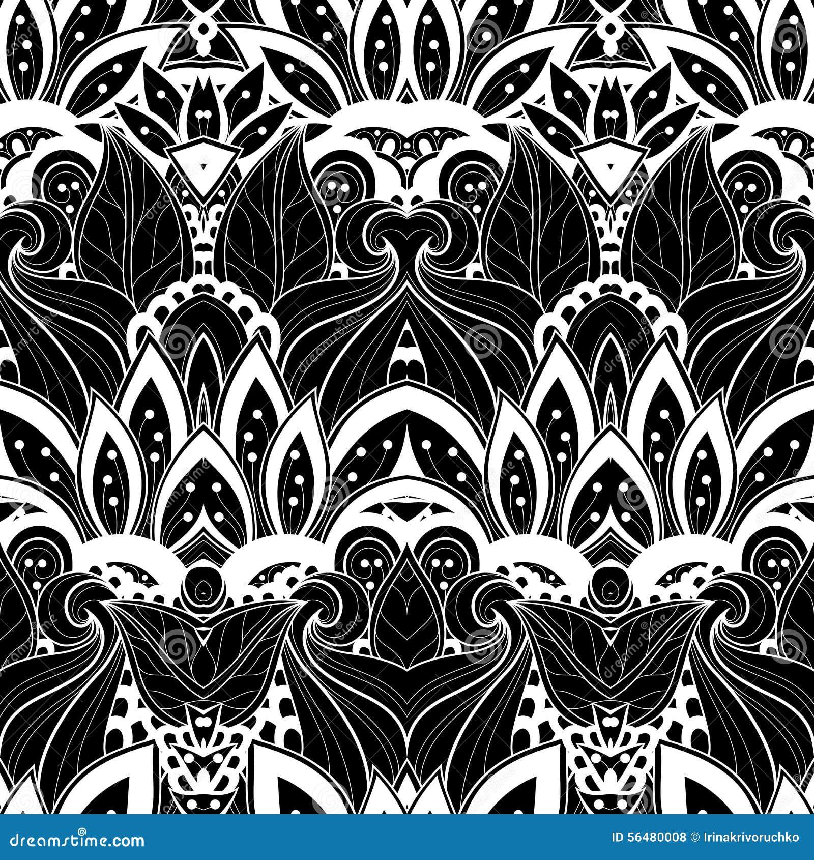 Download Modèle Tribal Abstrait Sans Couture (vecteur) Illustration de Vecteur - Illustration du décoratif, tapis: 56480008