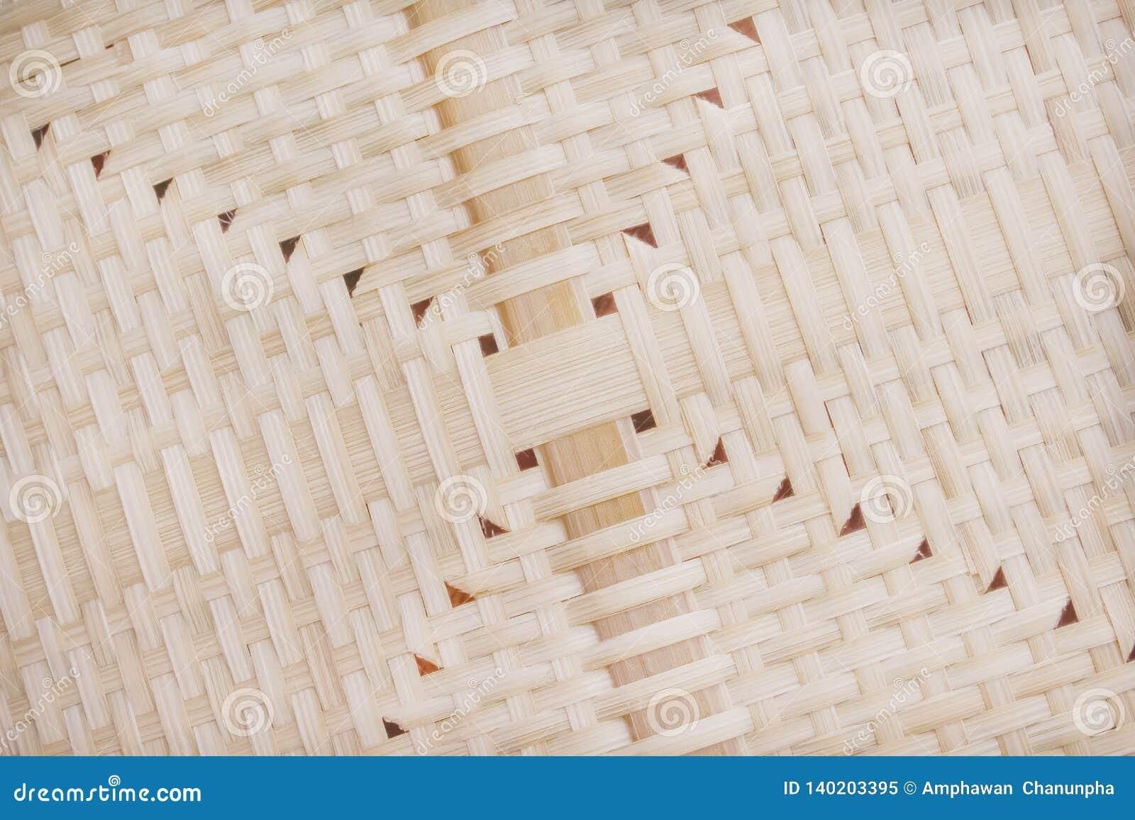 Modèles de texture d armure de bambou de nature avec le trou pour le fond
