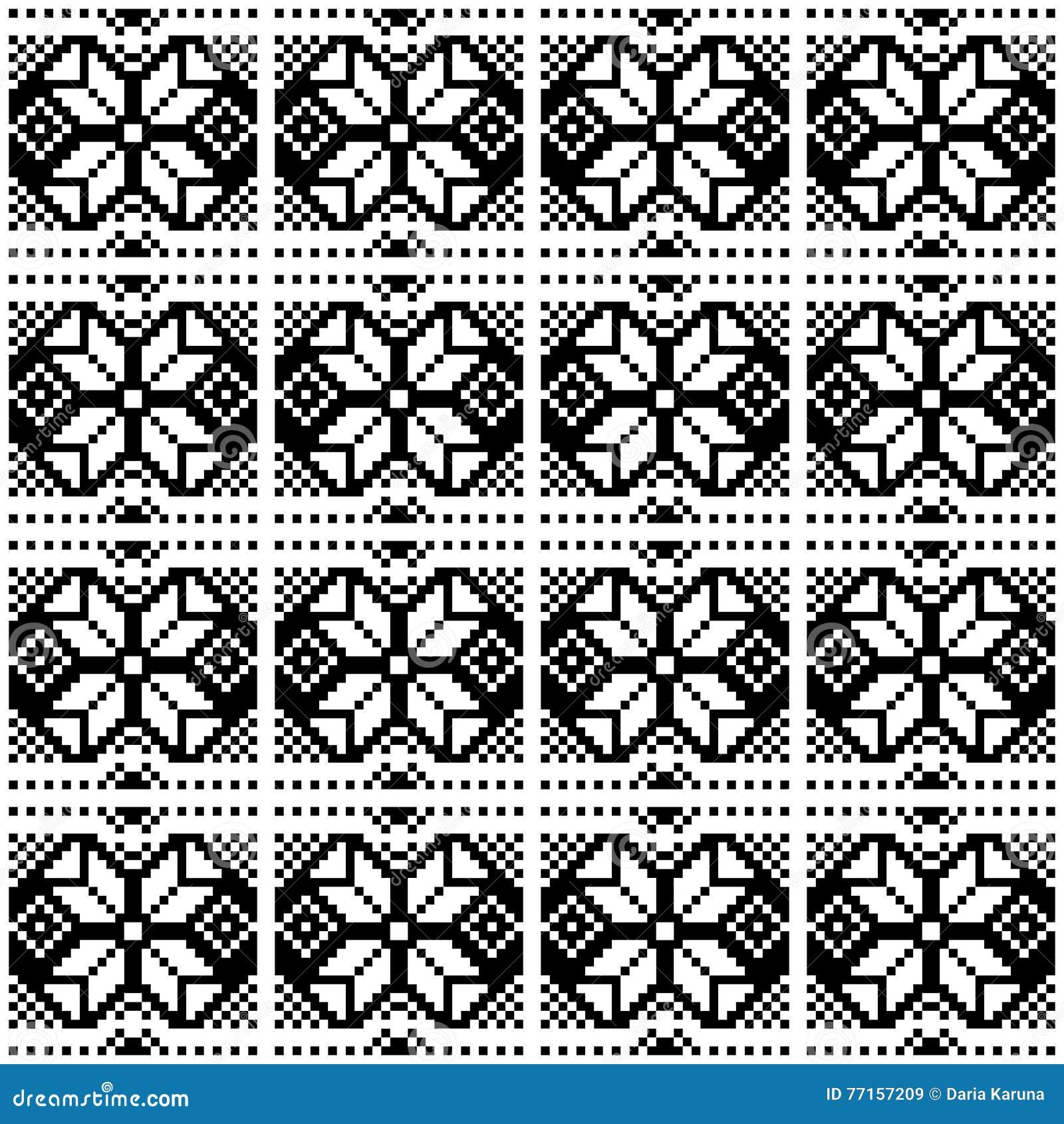 Modèles géométriques noirs abstraits sur un fond blanc