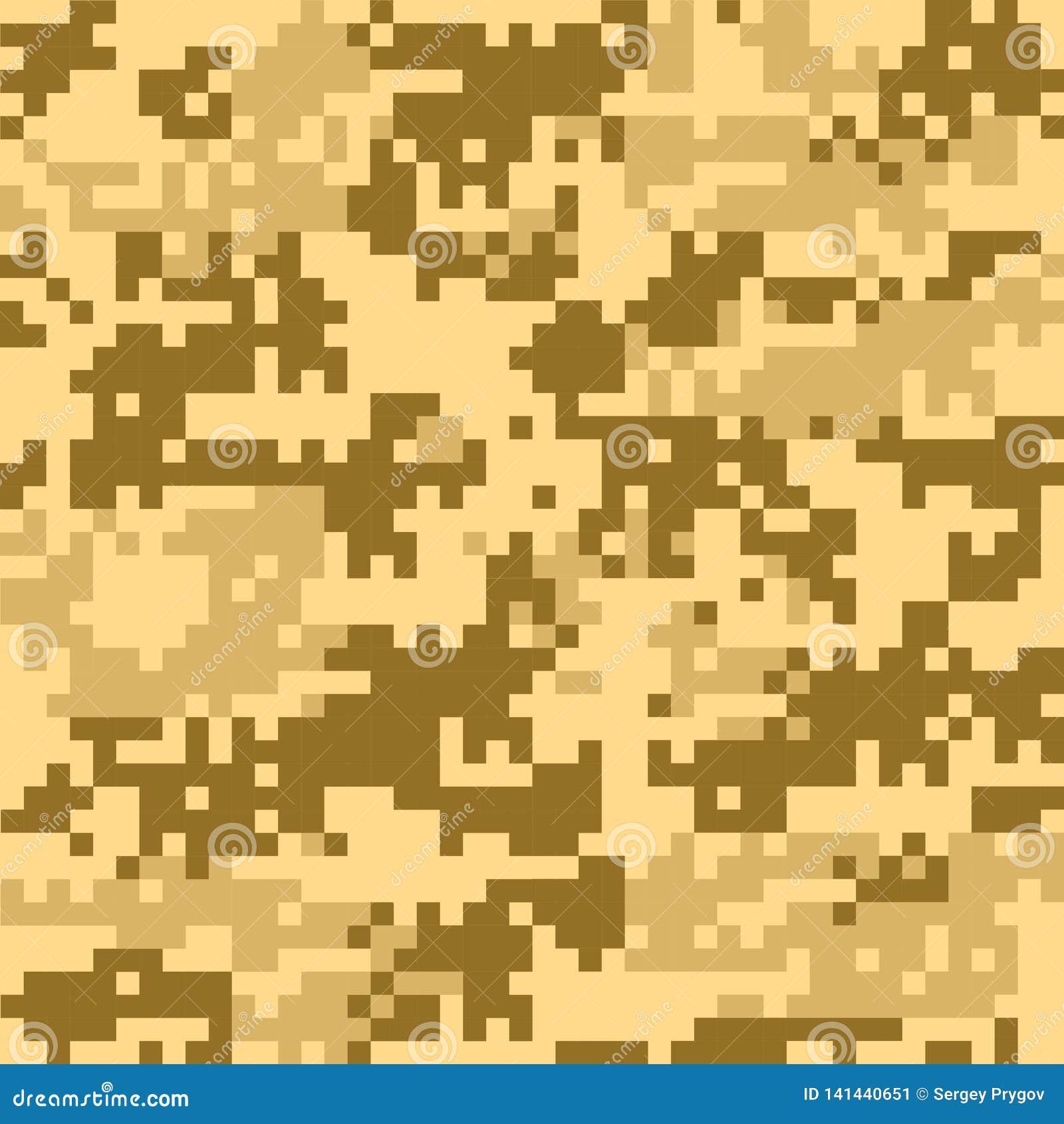Modèles sans couture de camouflage de Digital