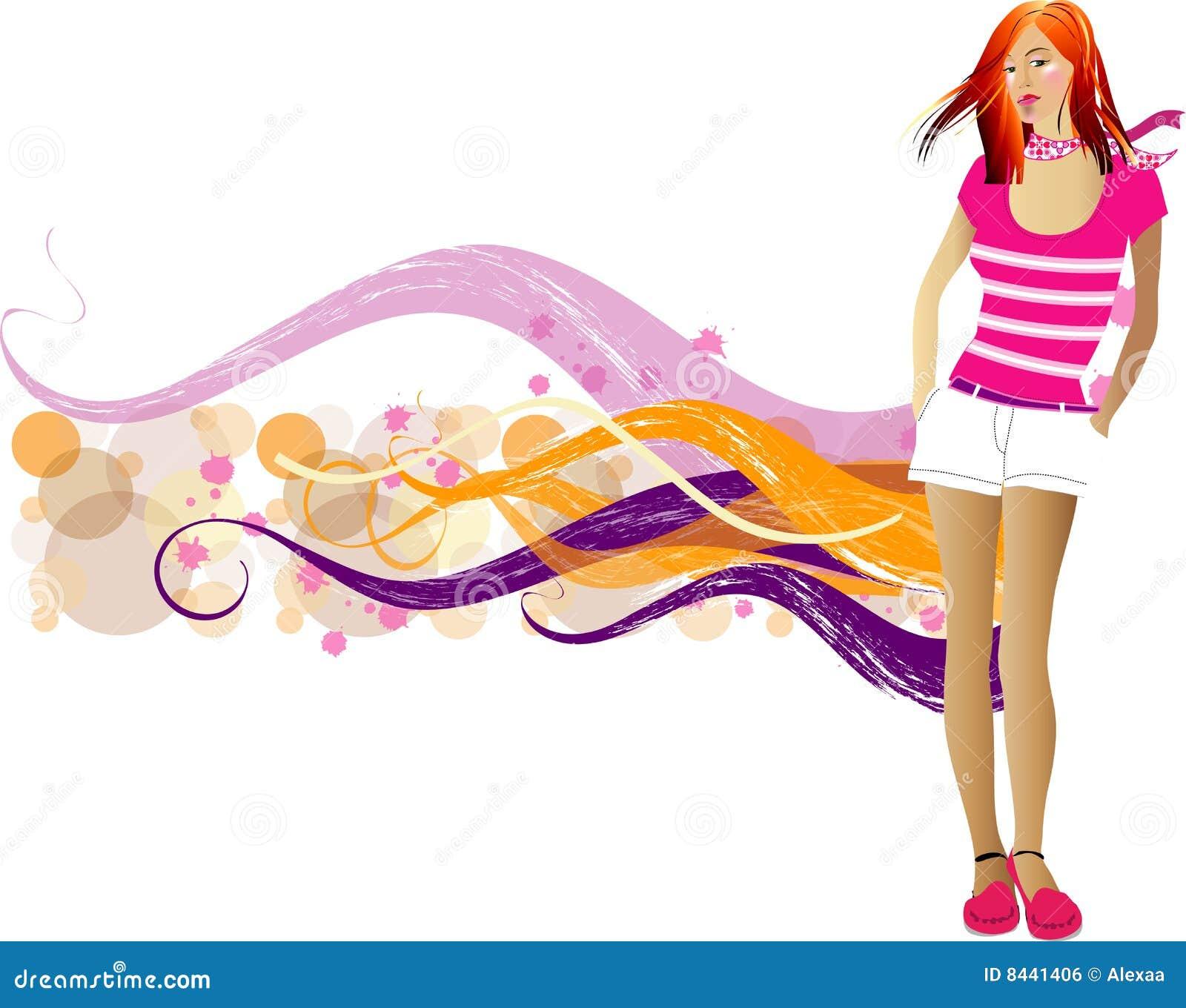 Mod dziewczyny