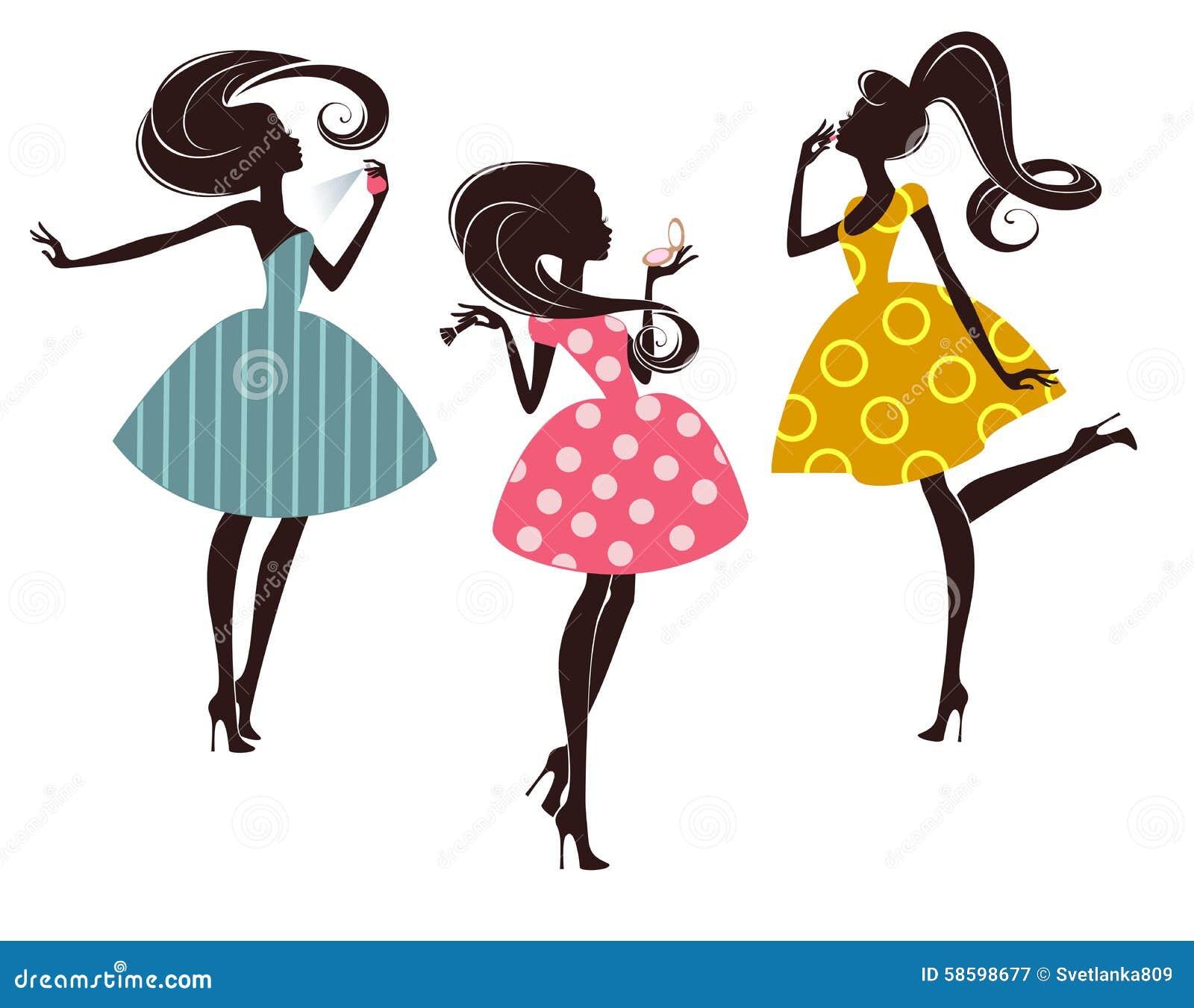 Mod dziewczyny trzy