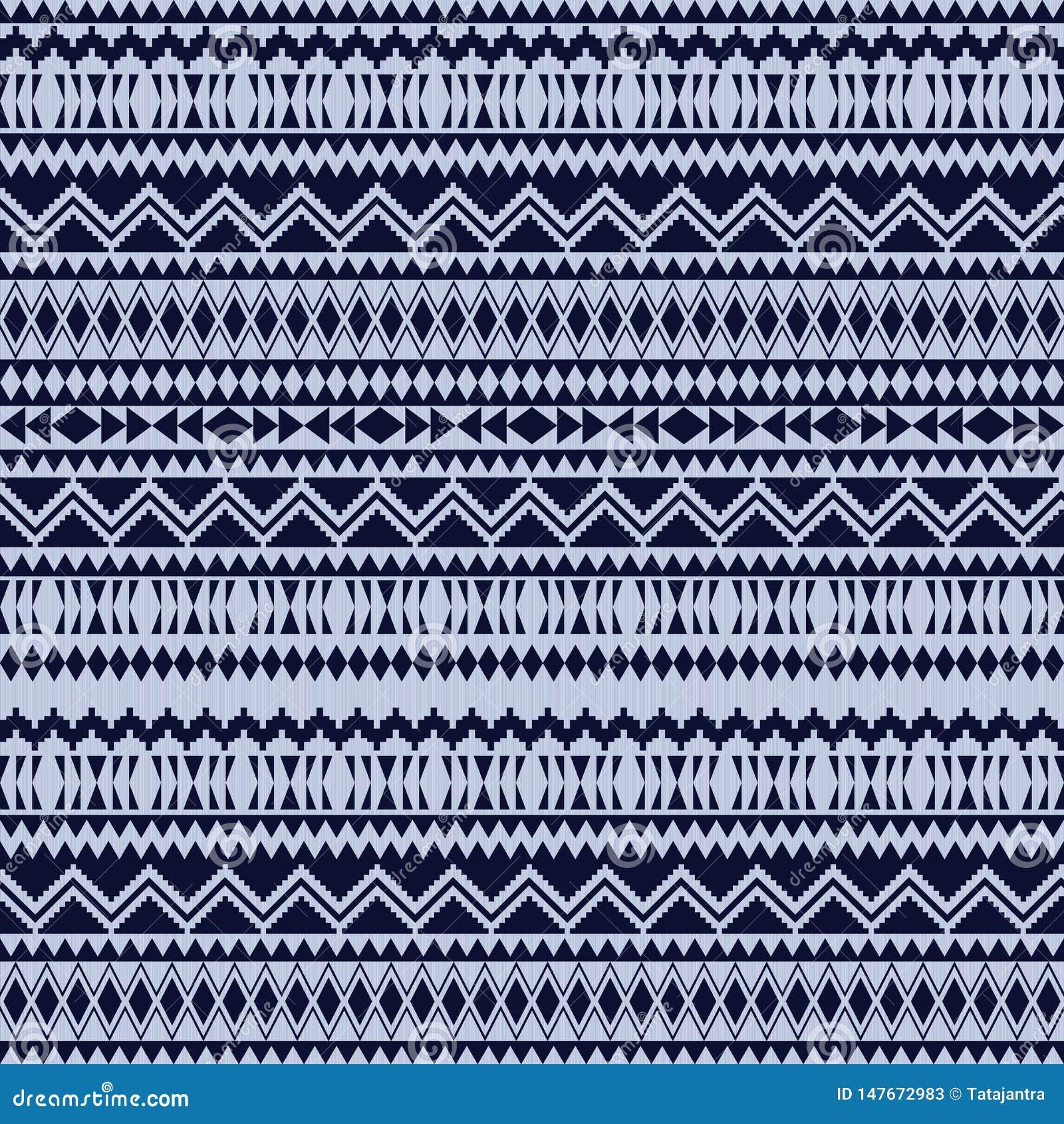 Mod?les sans couture ethniques Milieux g?om?triques azt?ques Tissu ?l?gant de Navajo Texture tribale de fond Papier peint abstrai