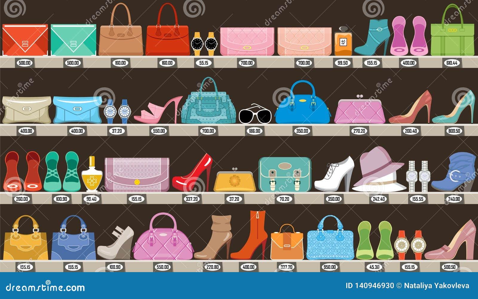 Moda sklep Butik akcesoria, torby i obuwie,