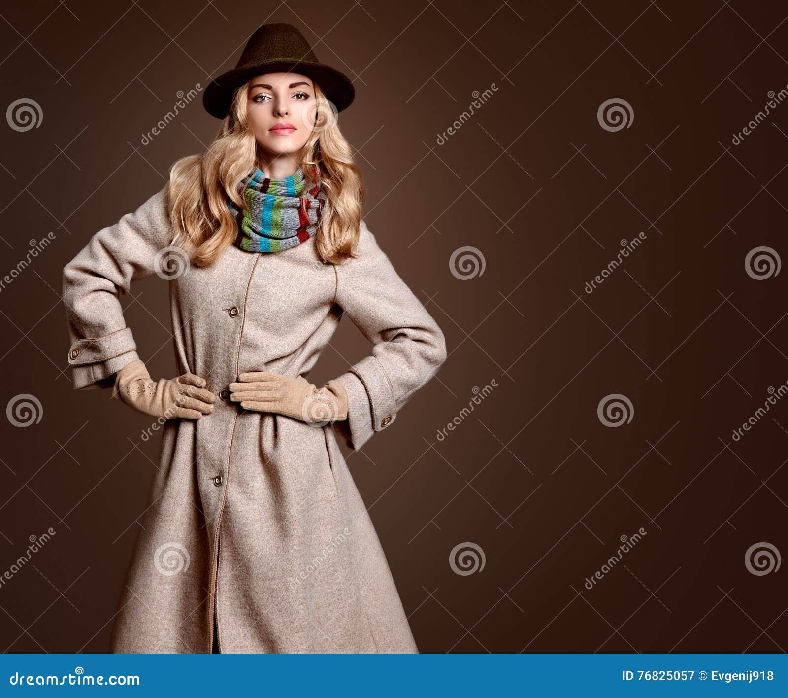 Mode de chute Femme en Autumn Outfit Couche élégante