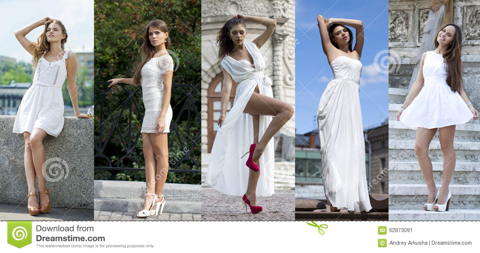 Mode de rue, belles jeunes femmes