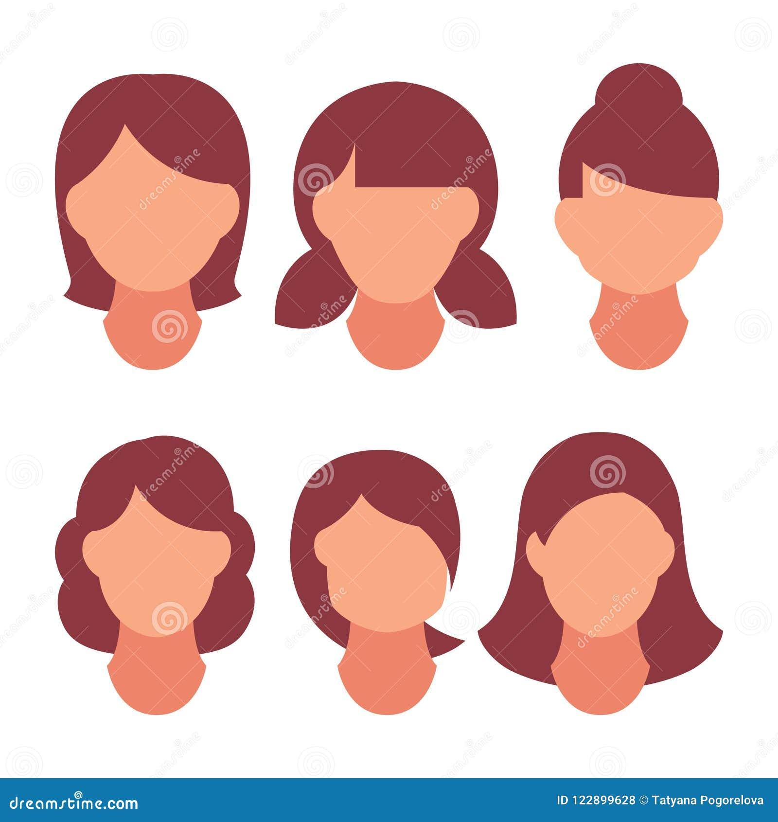 Coiffure pour cheveux court et sec