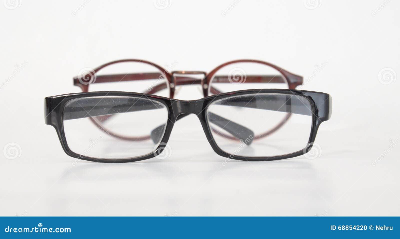 f1f97bd77a3ce6 Modebrillen Auf Einem Weißen Backfround Stockfoto - Bild von anblick ...