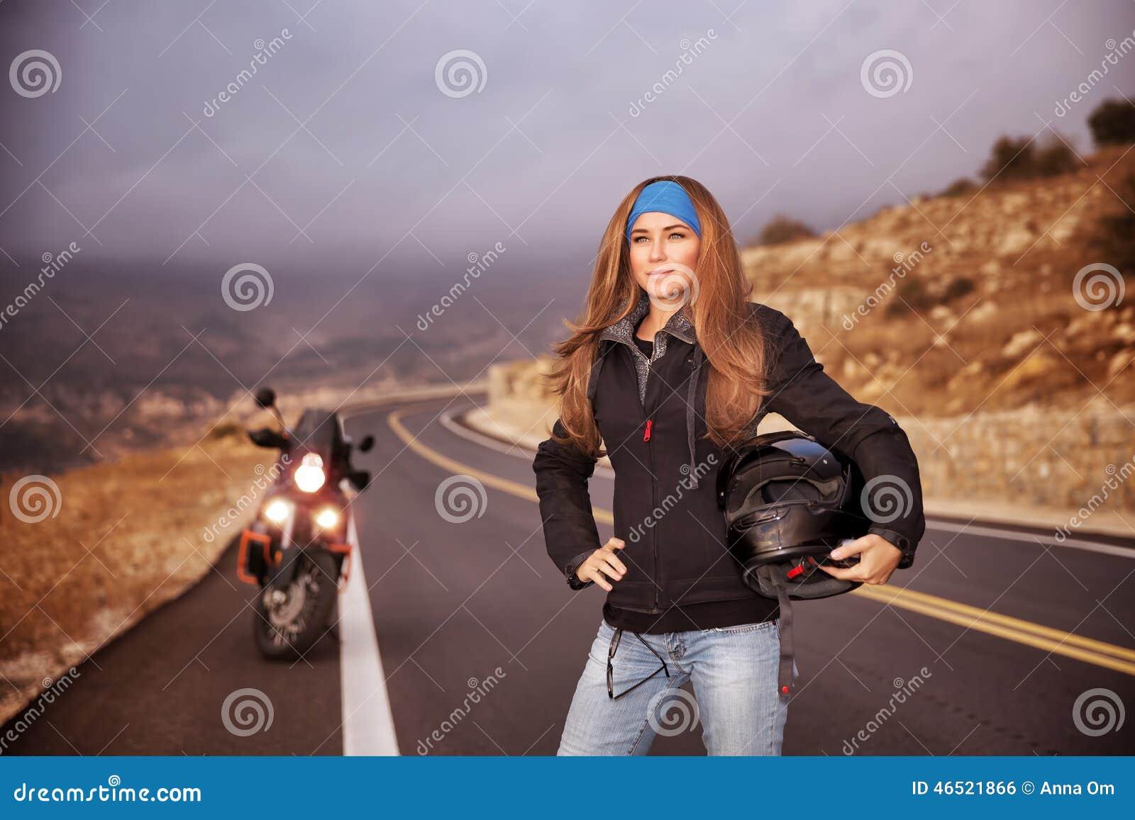 Modecyklistflicka