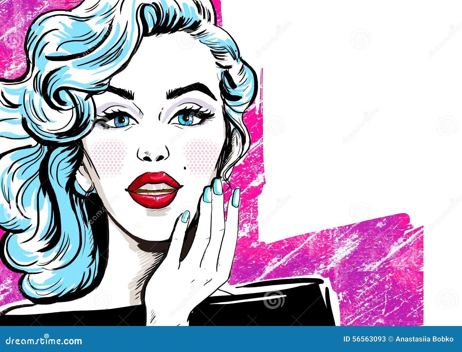 Modeillustration av flickan med handen fashion flickan Etikett för tetidtappning vektor för illustration för hälsning för födelse