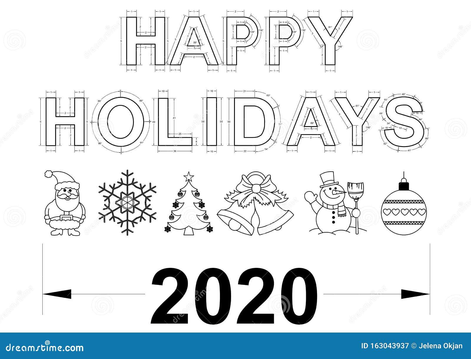 Happy Holidays 2020 Blueprint