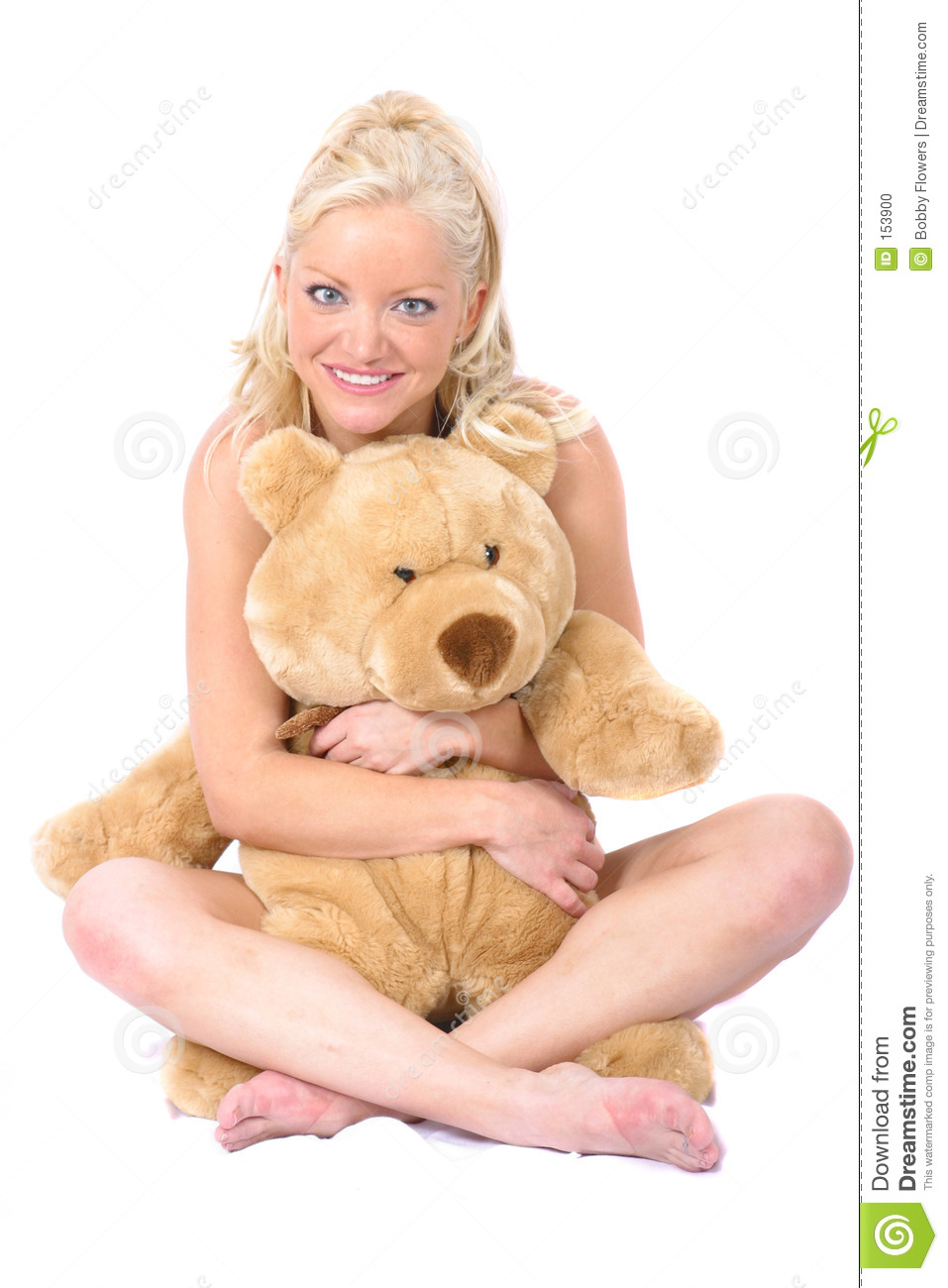Model and Bear