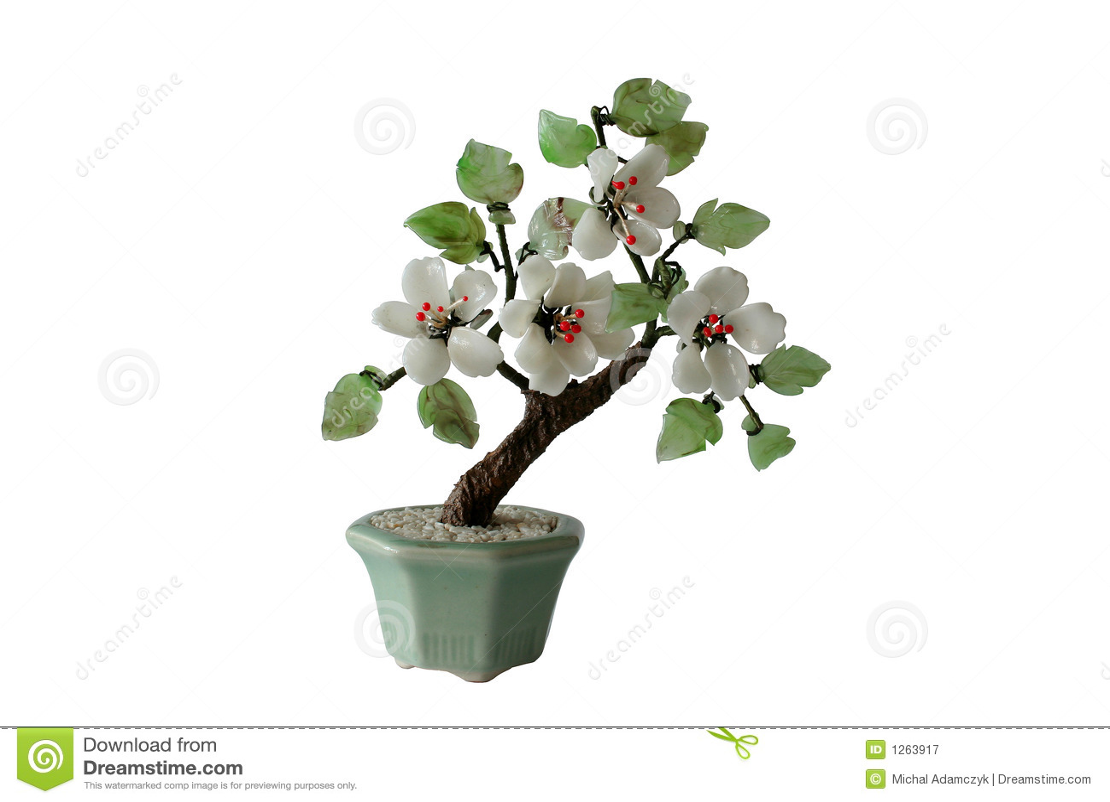 Model of bonzai tree (isolated)