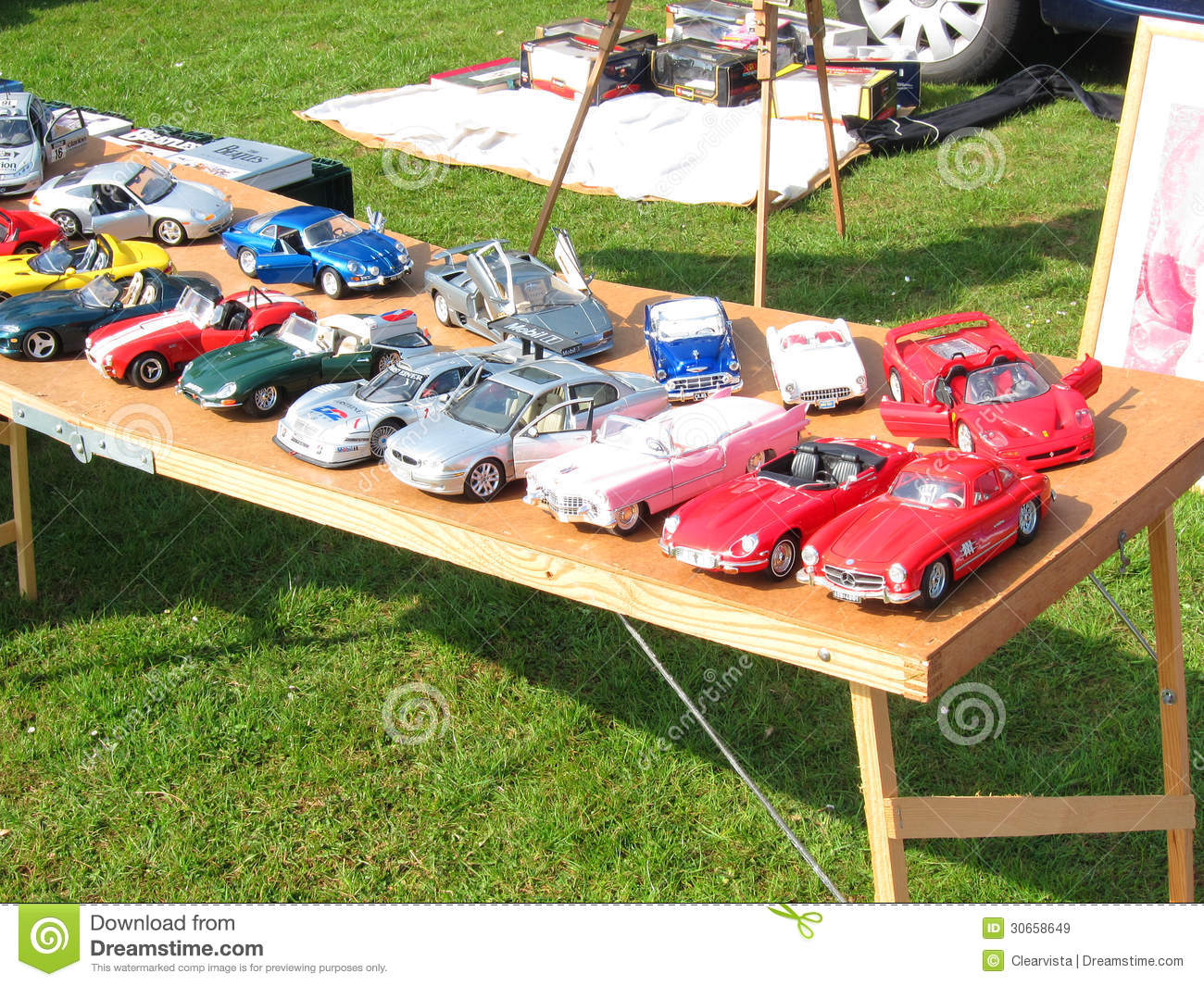 Model Cars For Sale Editorial Stock Image Image Of Table 30658649