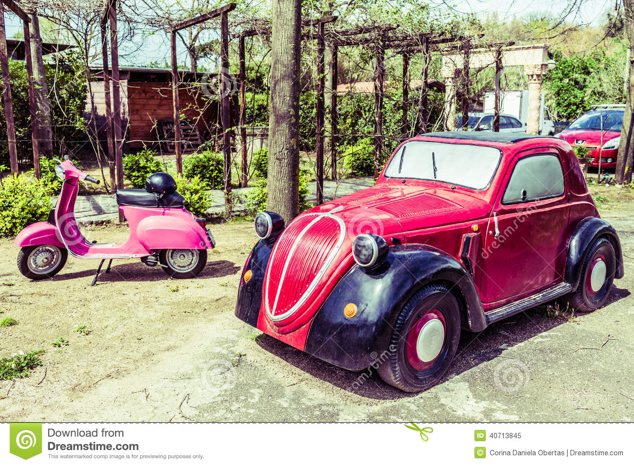 model of fiat 500 topolino editorial image image of model. Black Bedroom Furniture Sets. Home Design Ideas