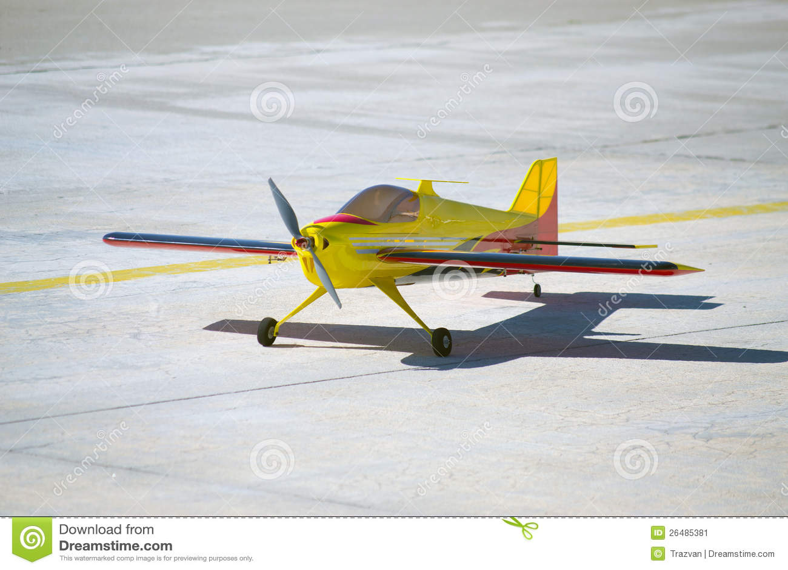 Model flygplan för RC