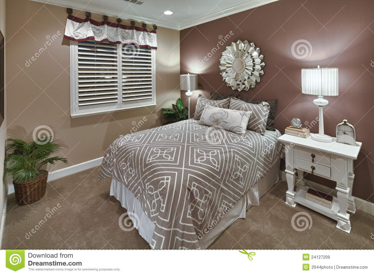 Pictures of model home bedrooms