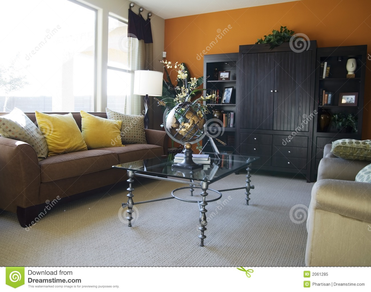 Model home interior design royalty free stock photo for Model home interior design