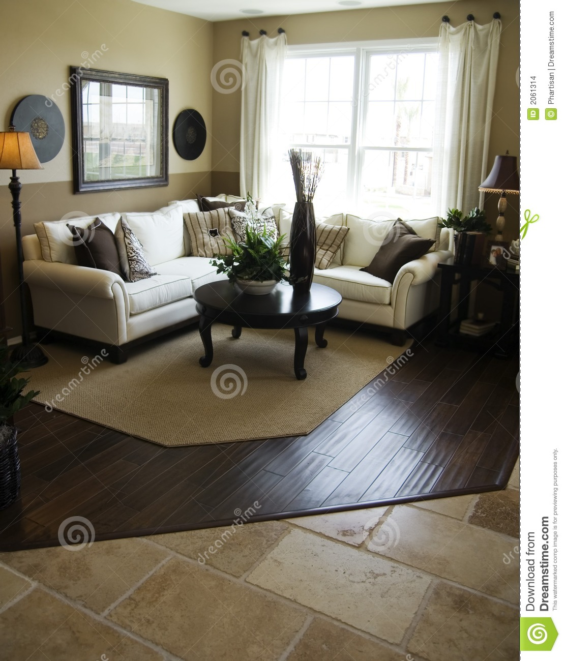 Model Home Interior Decorating: Model Home Interior Design Stock Images