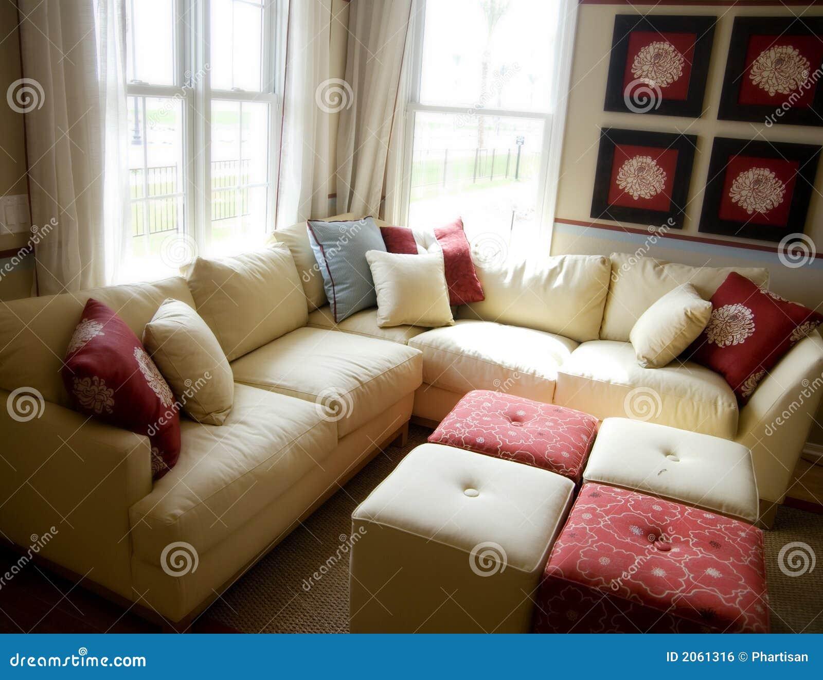 Model Home Interior Design Royalty Free Stock Image Image 2061316