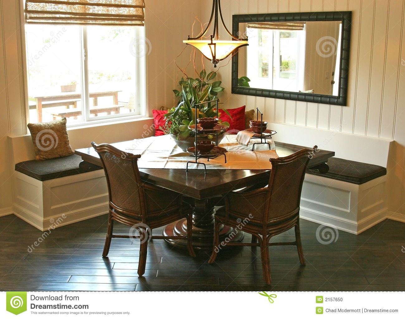 Model Home Interiors Stock Photo Image Of Meal Fixtures