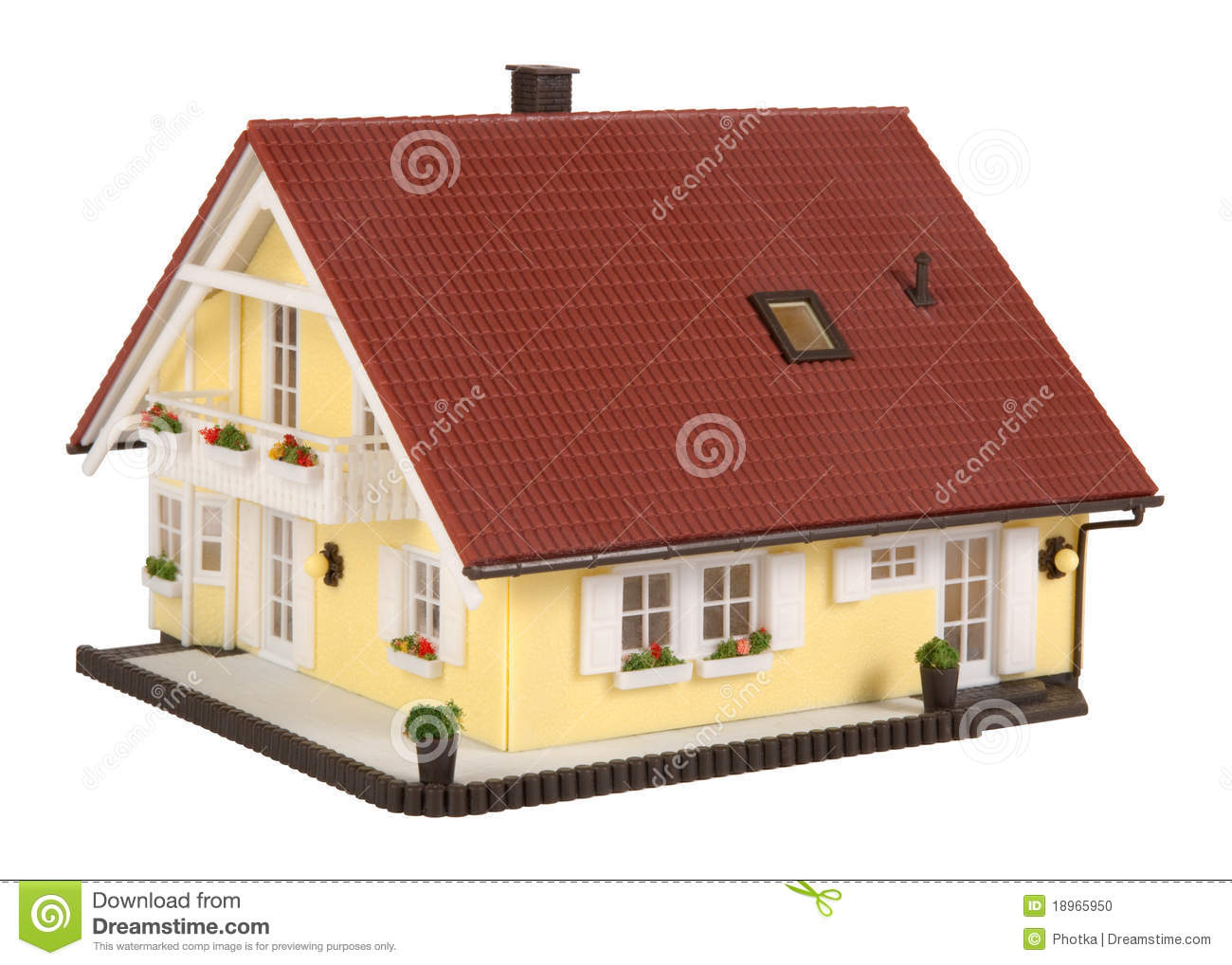 Model house stock photo image 18965950 for Building model houses