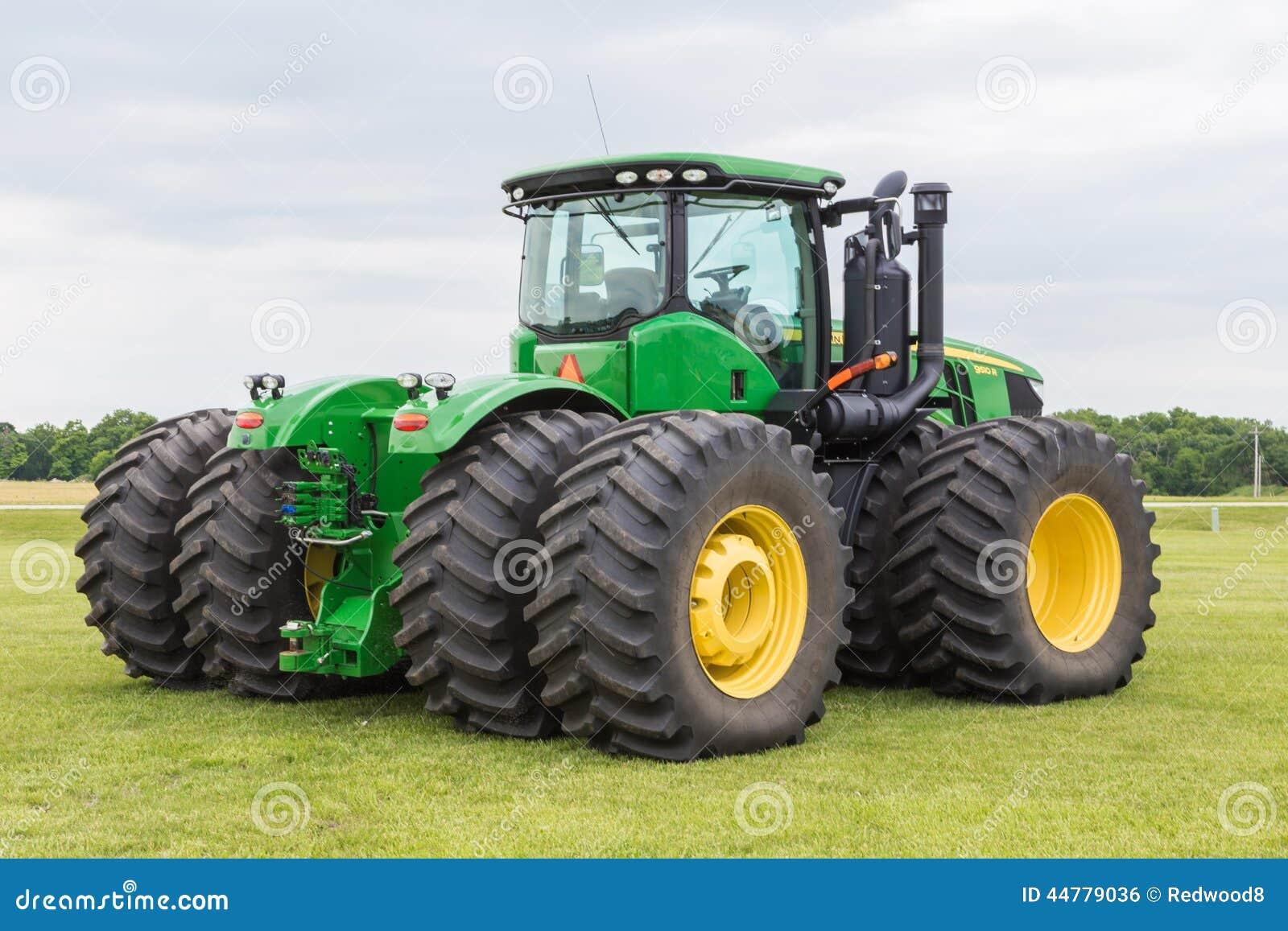 Model 9510 John Deere Tractor Redactionele Foto Afbeelding