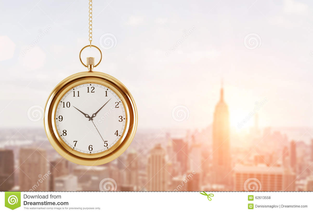 Business And Time, Pocket Watch Stock Photo ...