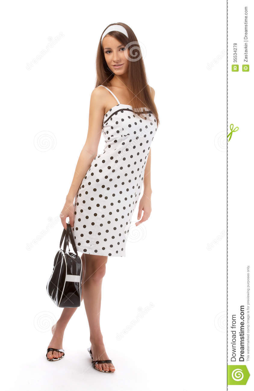 Model in retro clothes royalty free stock photos image - Modele dressing ...