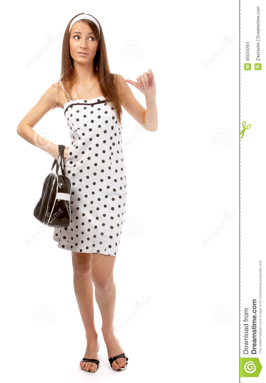 Model in retro clothes stock images image 35534284 - Dressing modellen ...