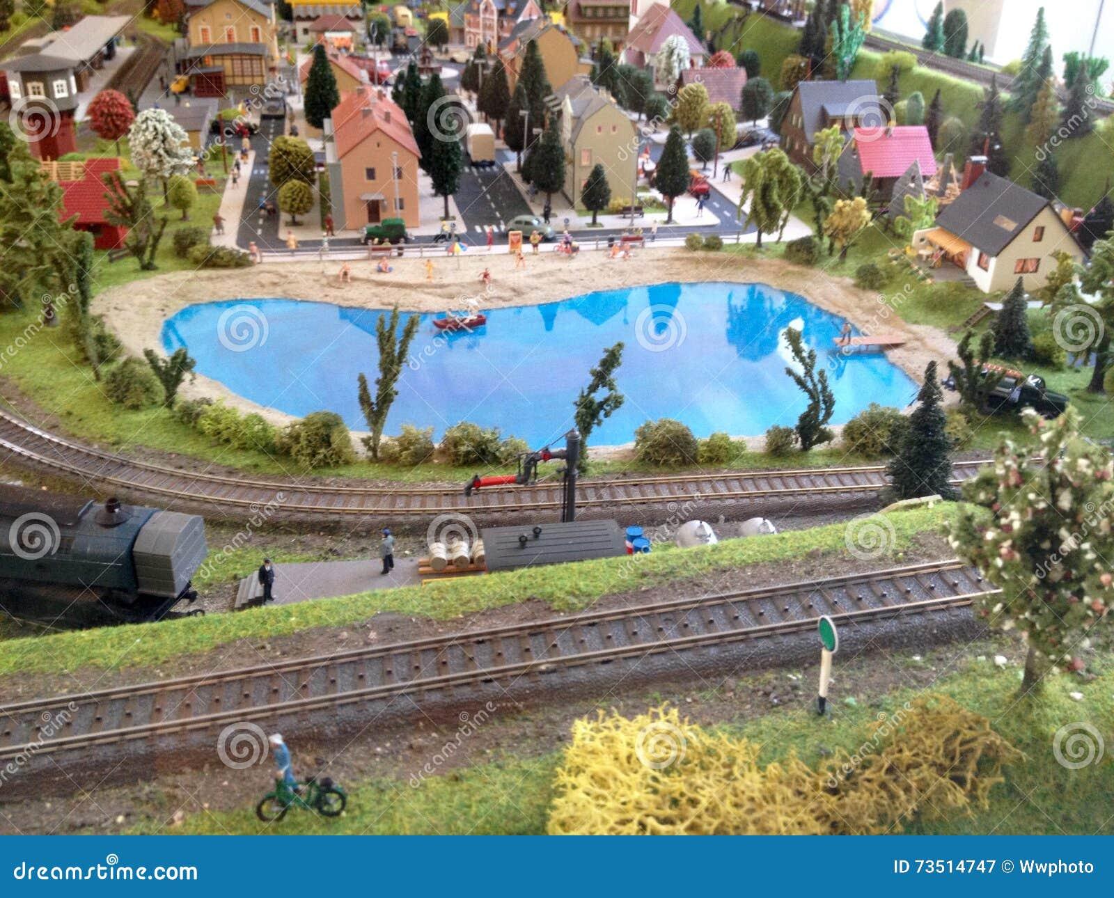 Model spoorweg