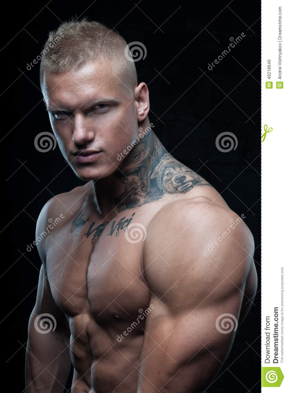 Model With Tattoo Stock Photo - Image 49218649-7143
