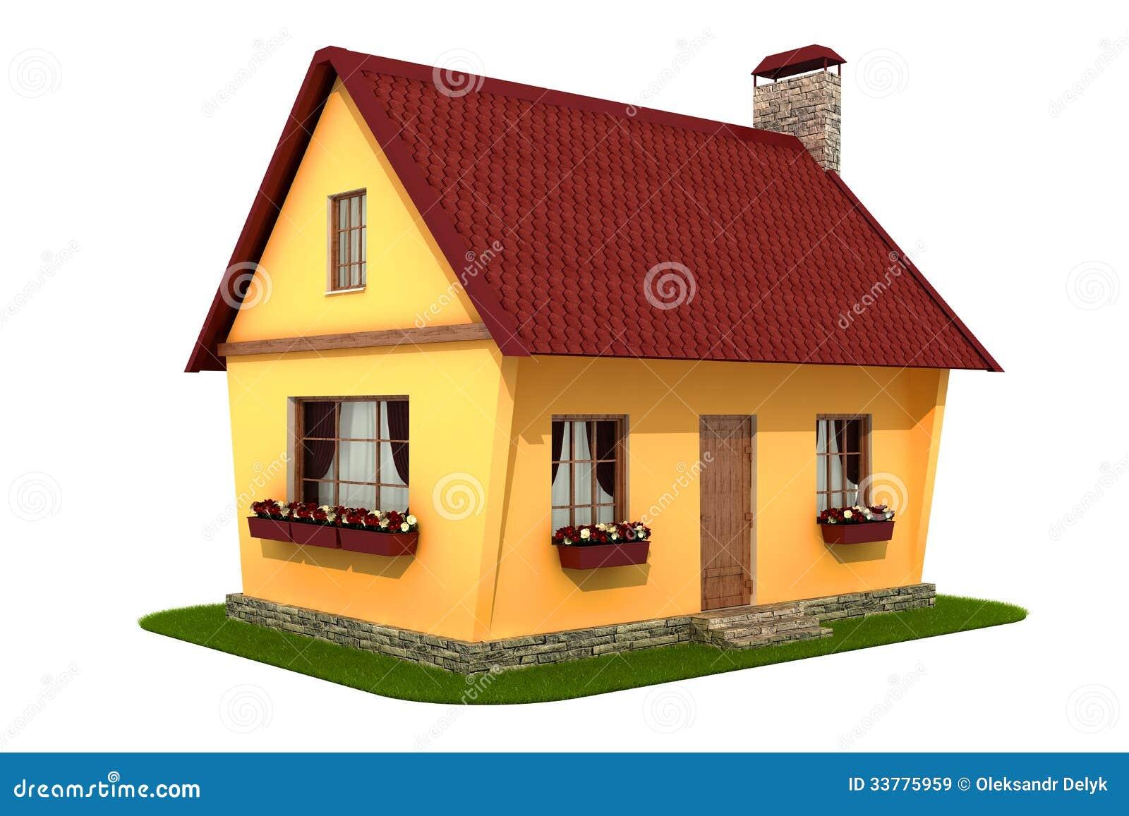 Model village house