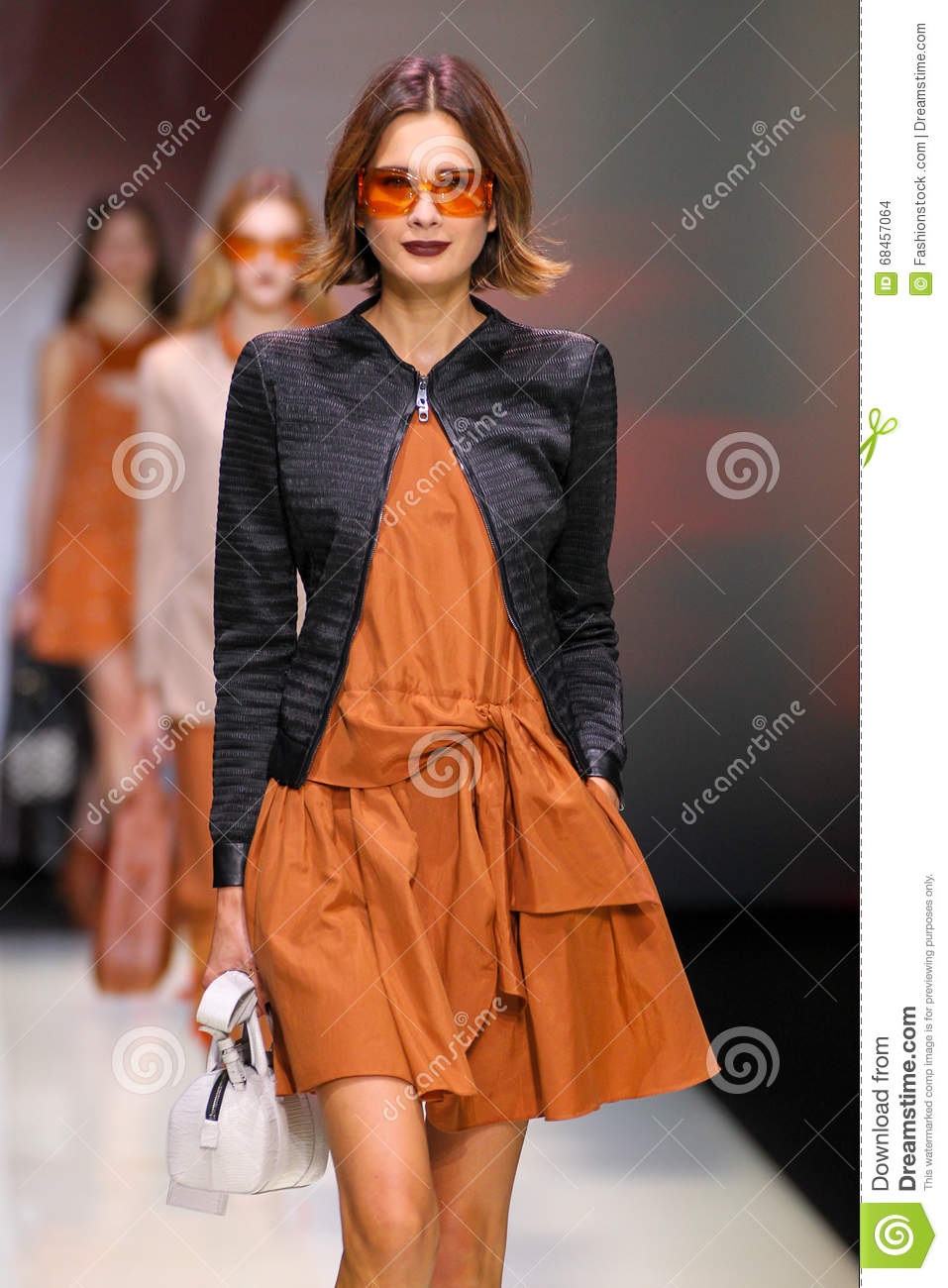 be9bef0ddba A Model Walks The Runway During The Emporio Armani Show Editorial ...