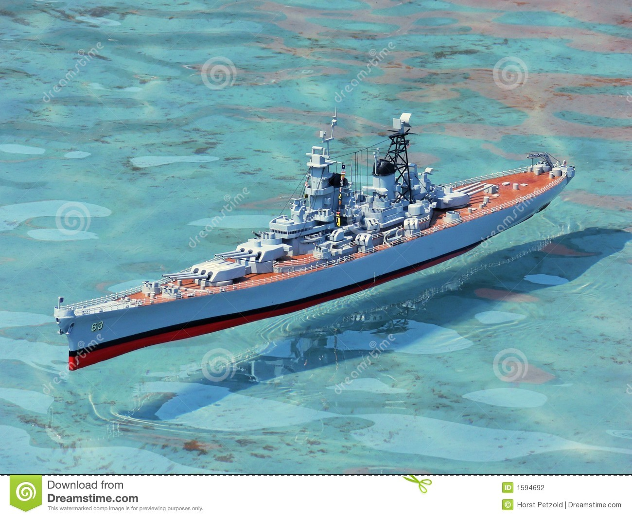 Model War Ship 20589 Stock Photography - Image: 1594692