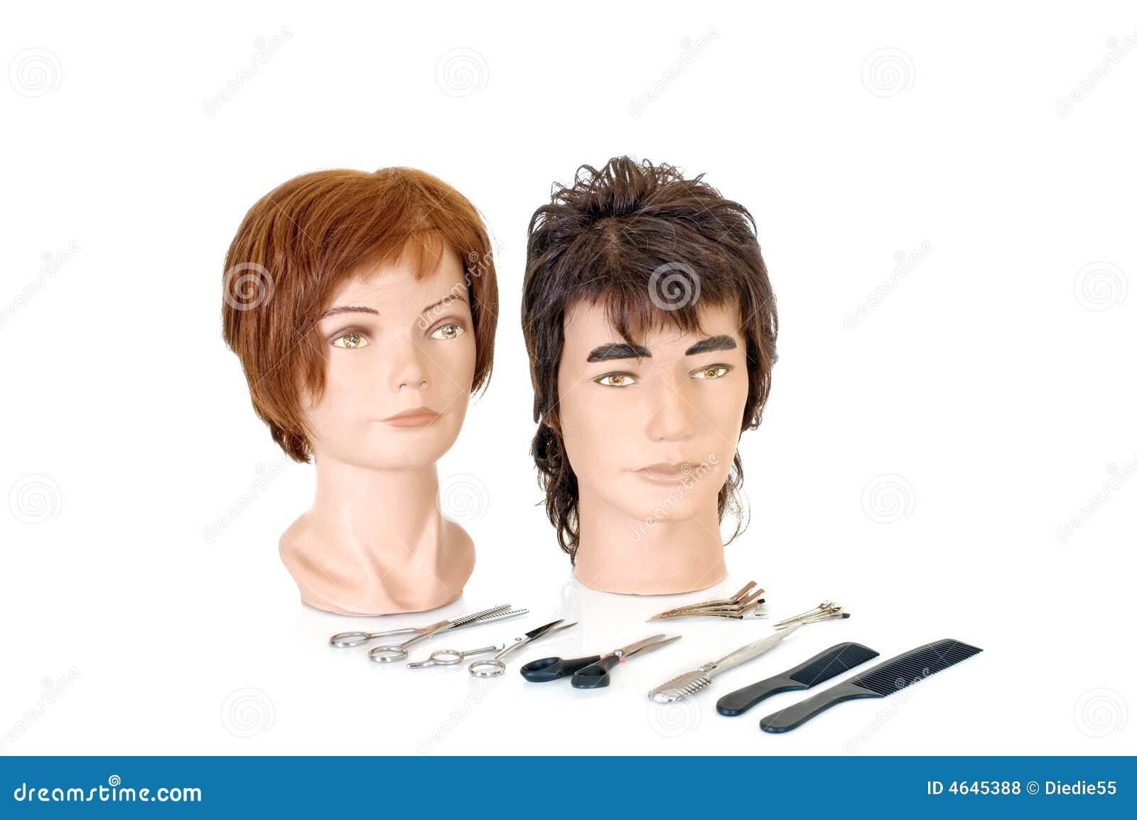 Modelando as cabeças
