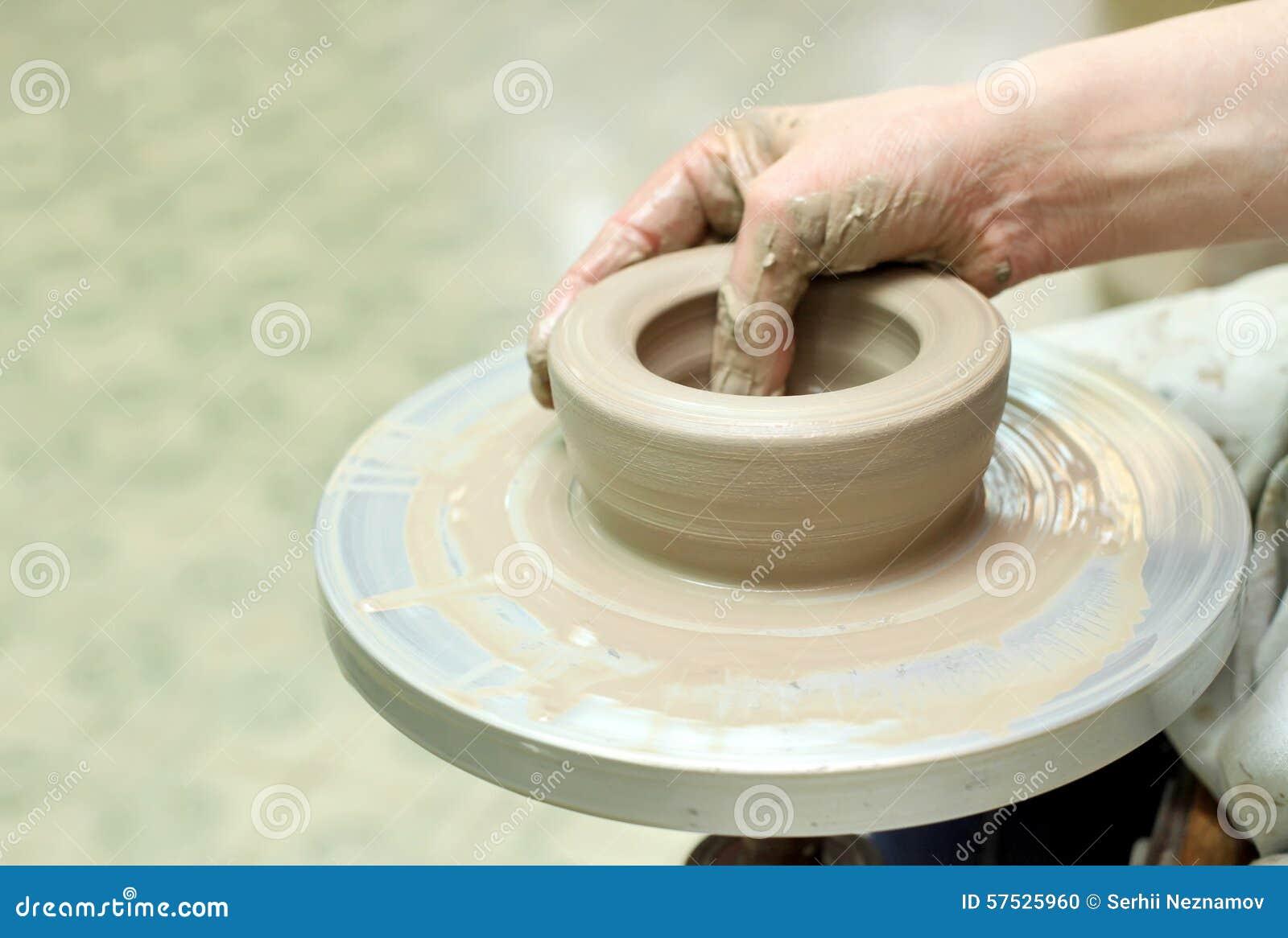 Modelarska glina handmade garnek Malujący glassware