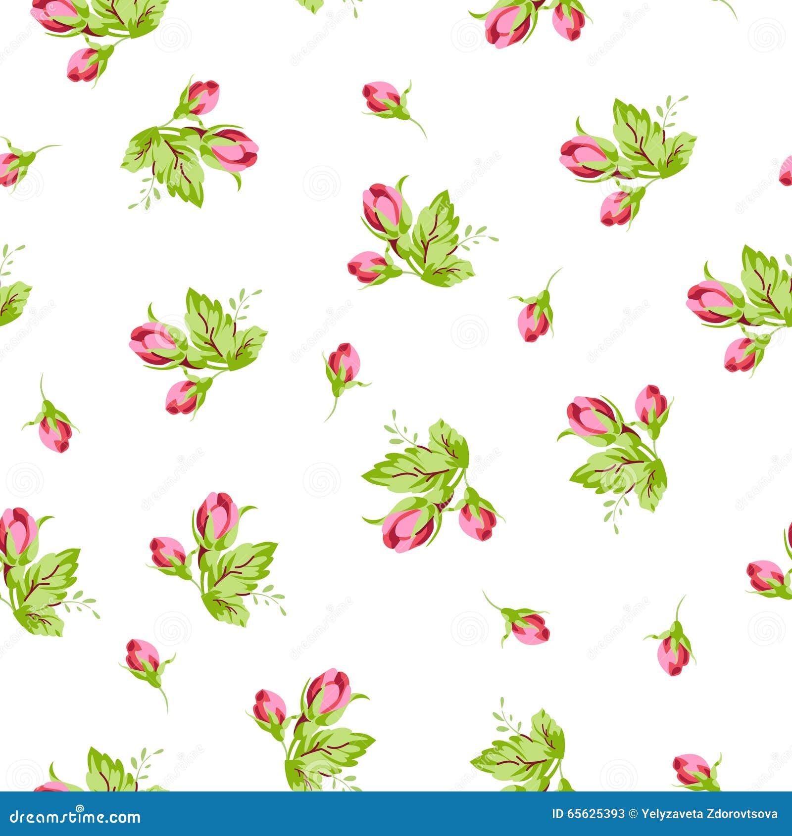 Modelez avec de petites roses de bourgeons